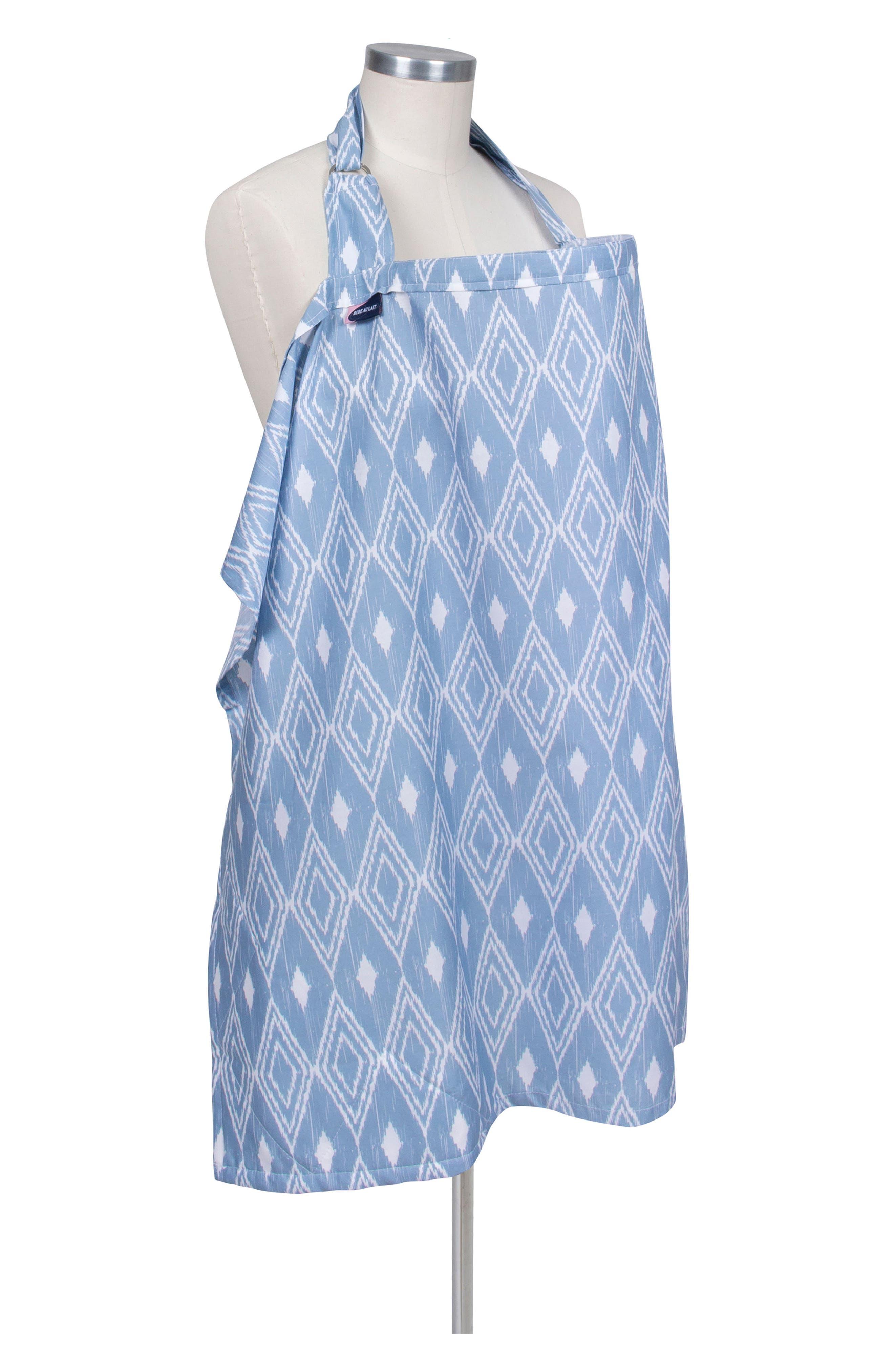 Alternate Image 2  - Bébé au Lait Nursing Cover & Burp Cloth Set