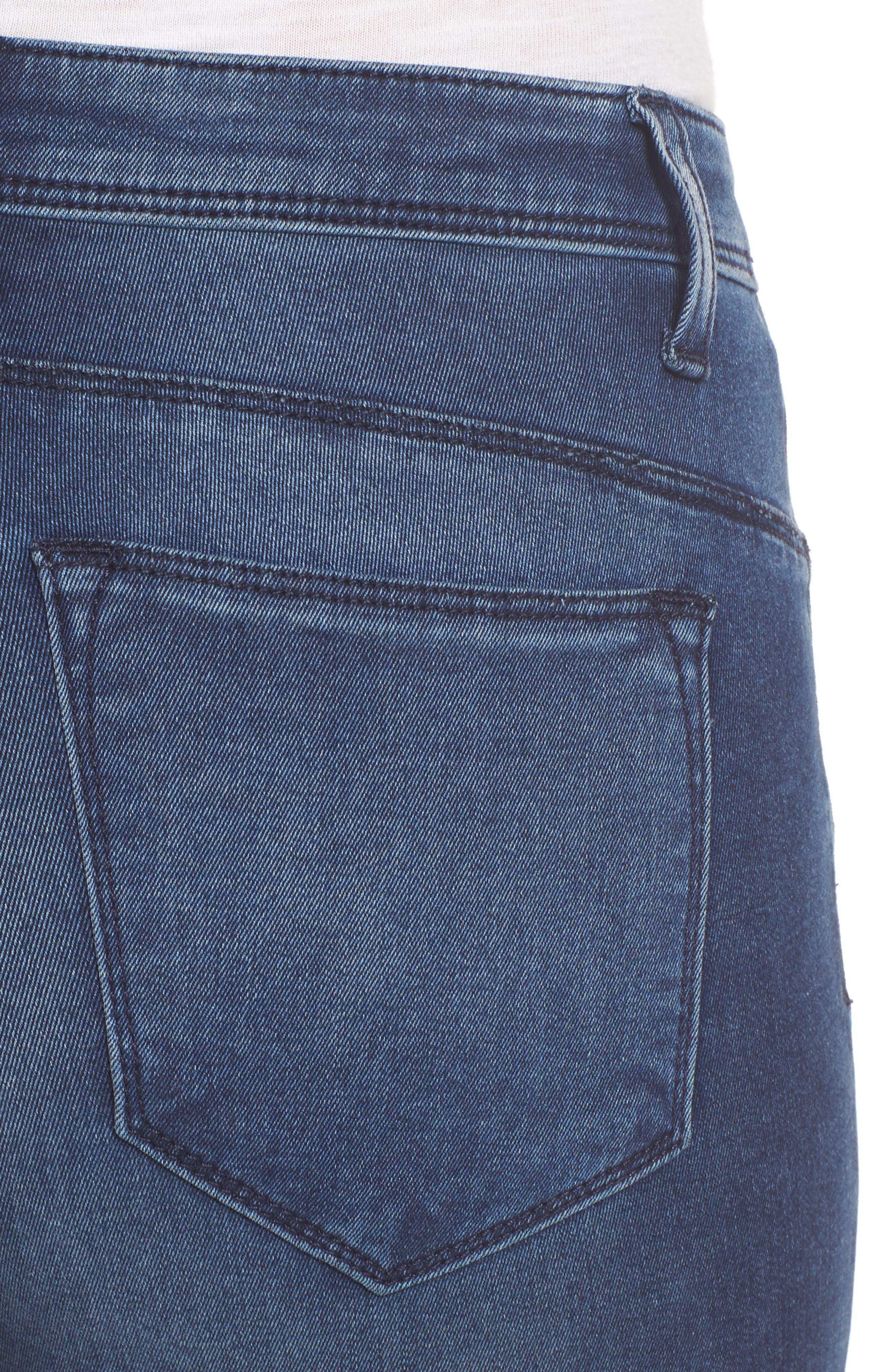 Alternate Image 4  - KUT from the Kloth Jennifer Ultra Skinny Jeans (Fashionable)
