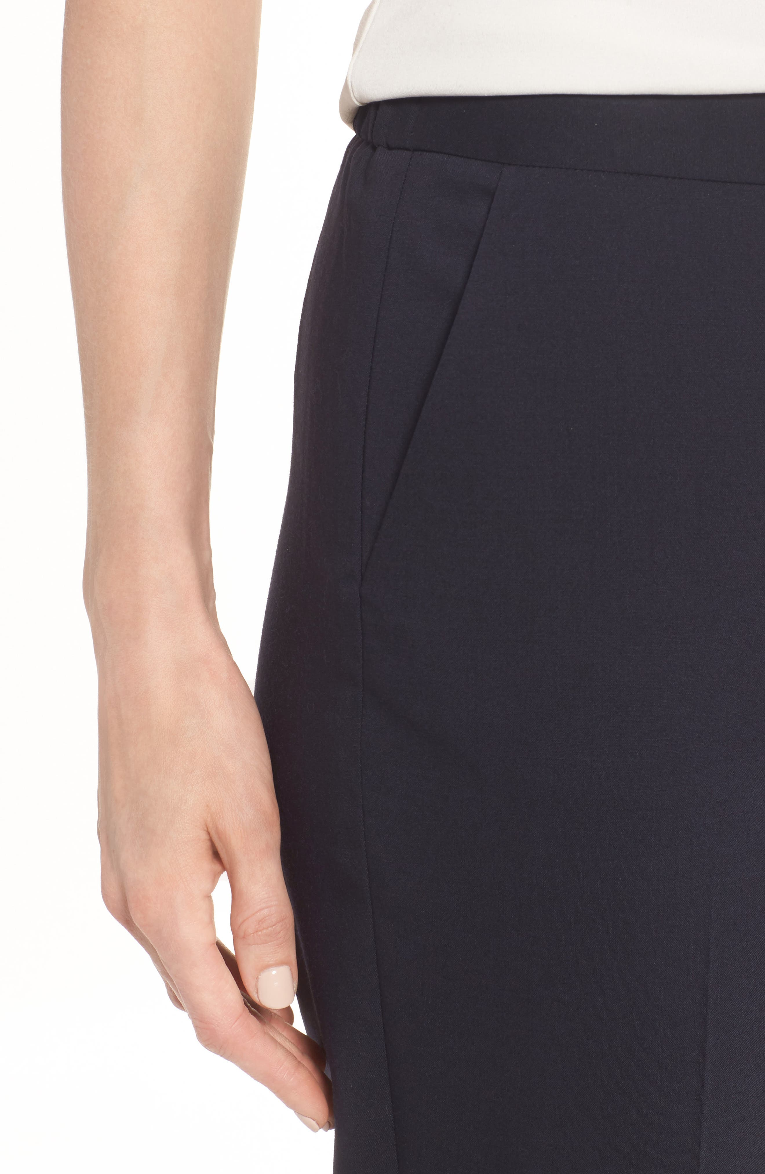 Alternate Image 4  - Nordstrom Signature Stretch Ankle Pants