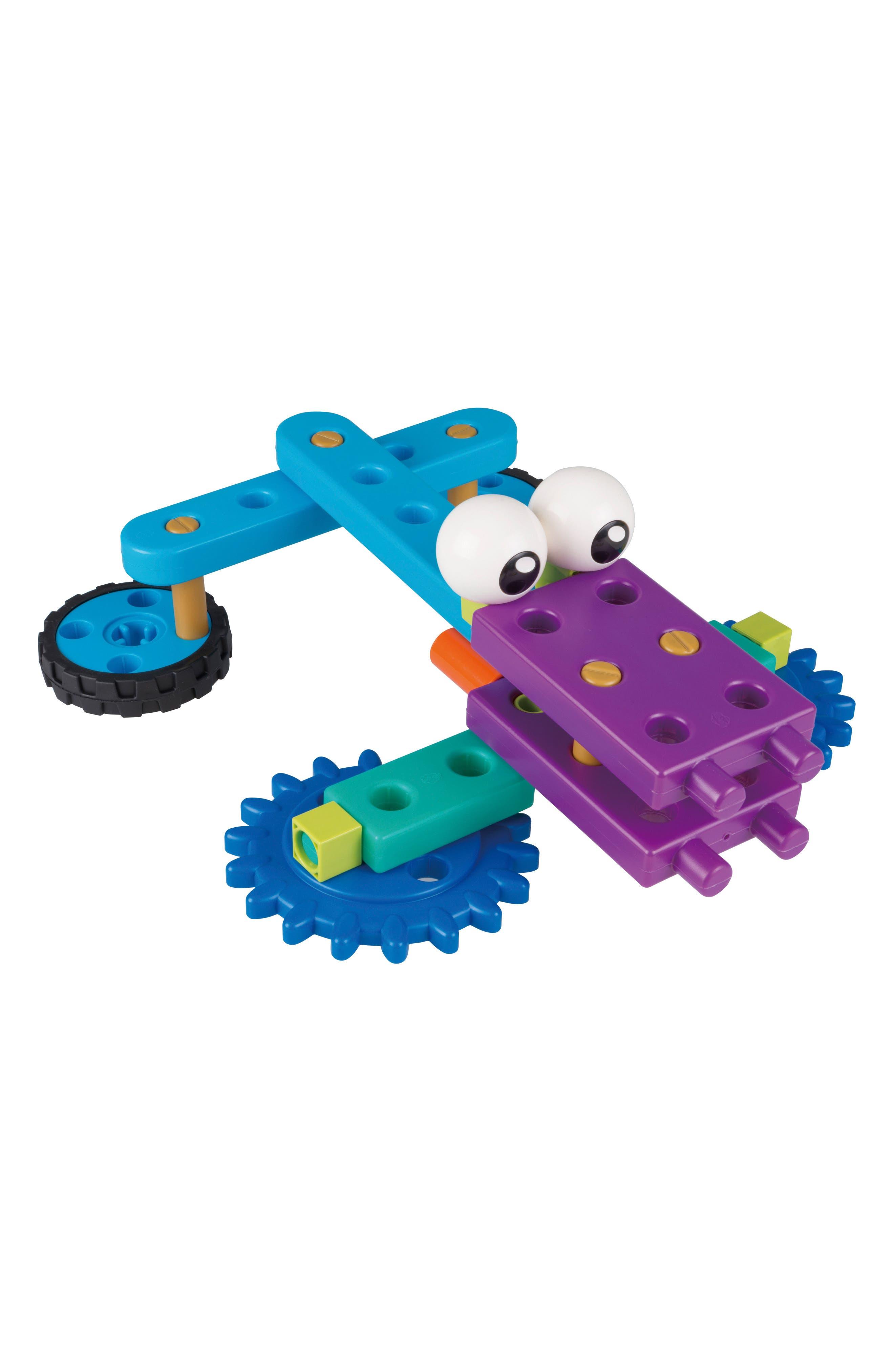 Robot Engineer Building Set & Storybook,                             Alternate thumbnail 2, color,                             Blue
