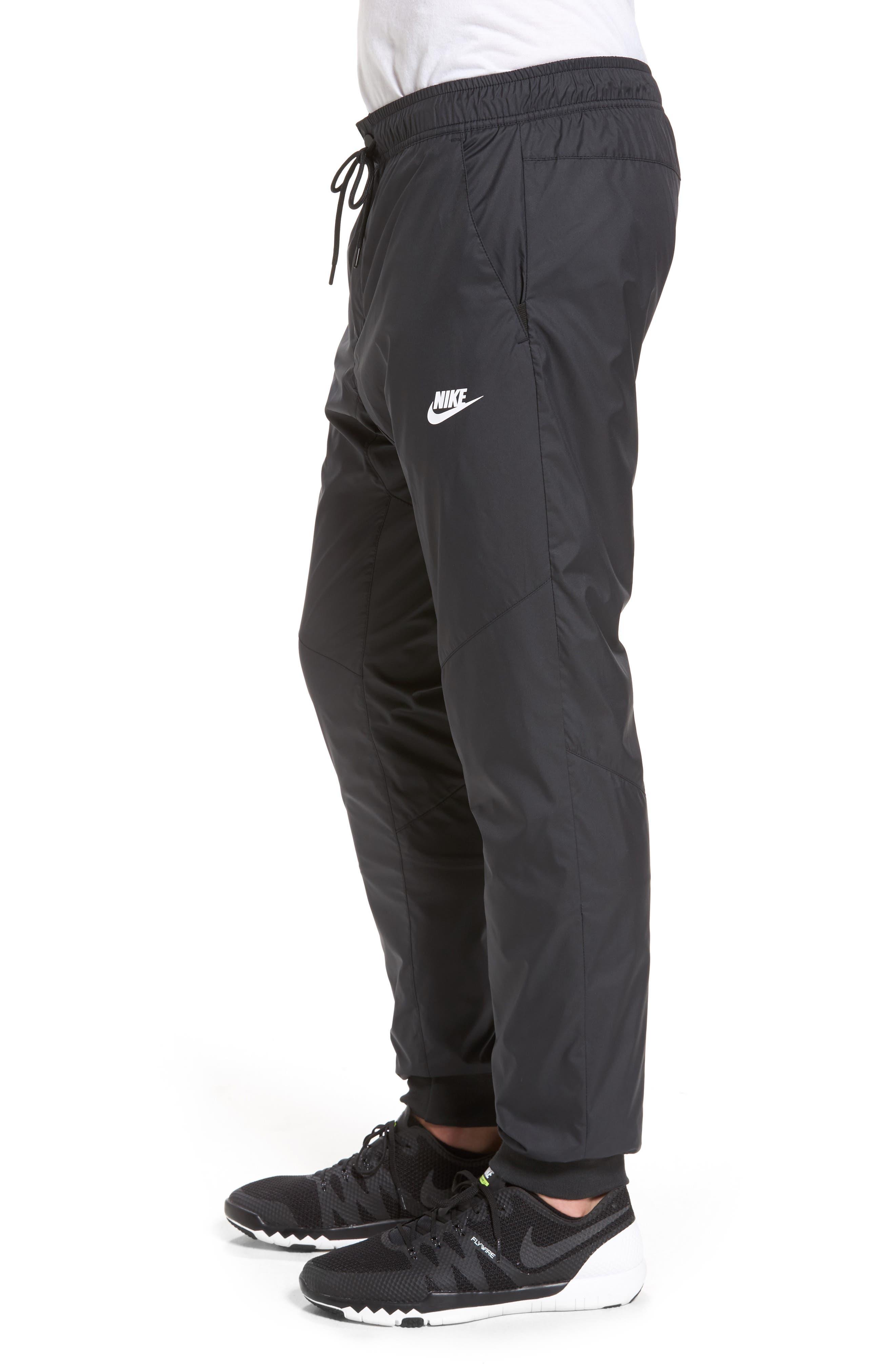Windrunner Training Pants,                             Alternate thumbnail 3, color,                             Black/ Black/ Black/ White