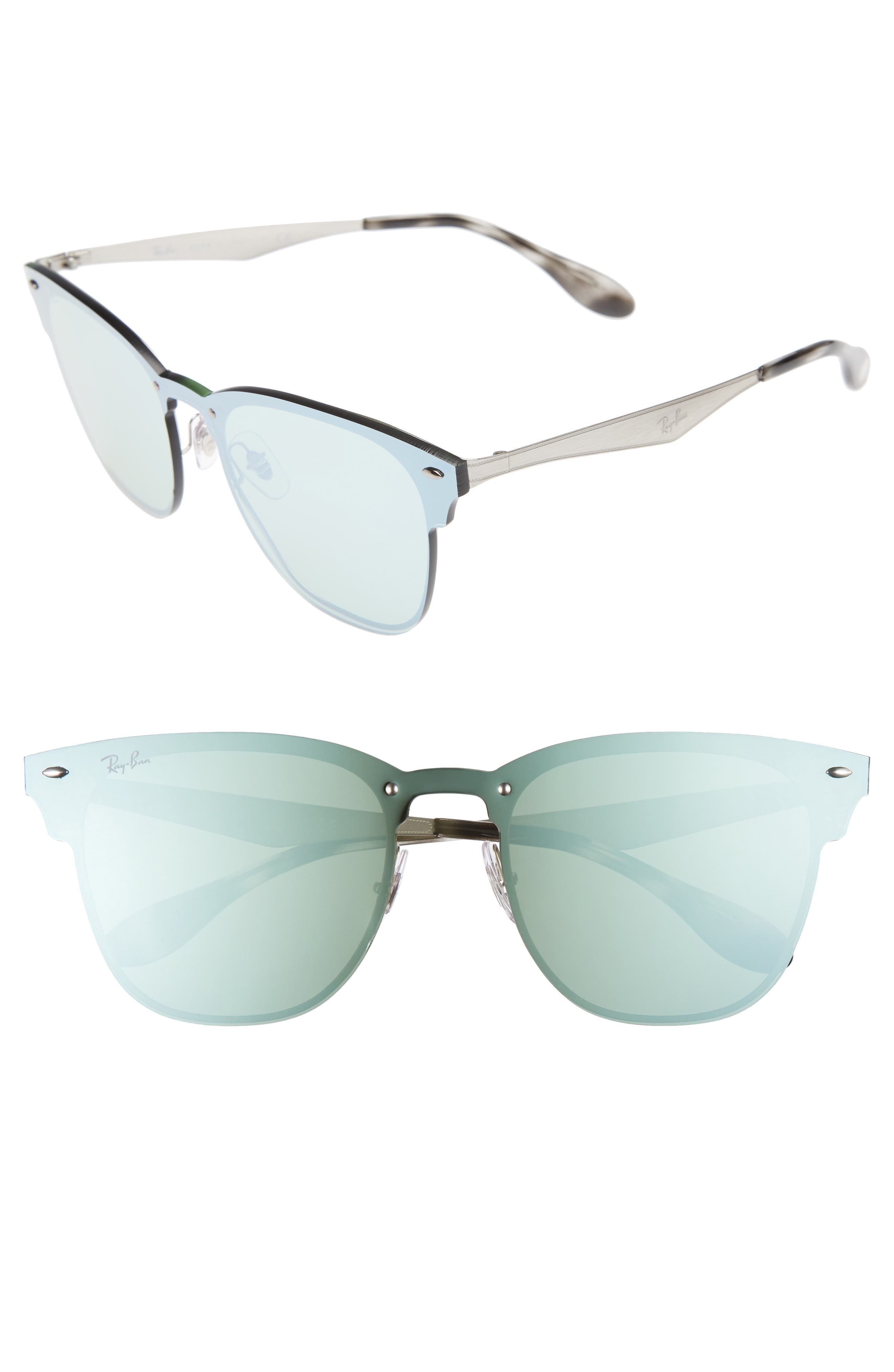 Wayfarer 42mm Sunglasses,                         Main,                         color, Silver