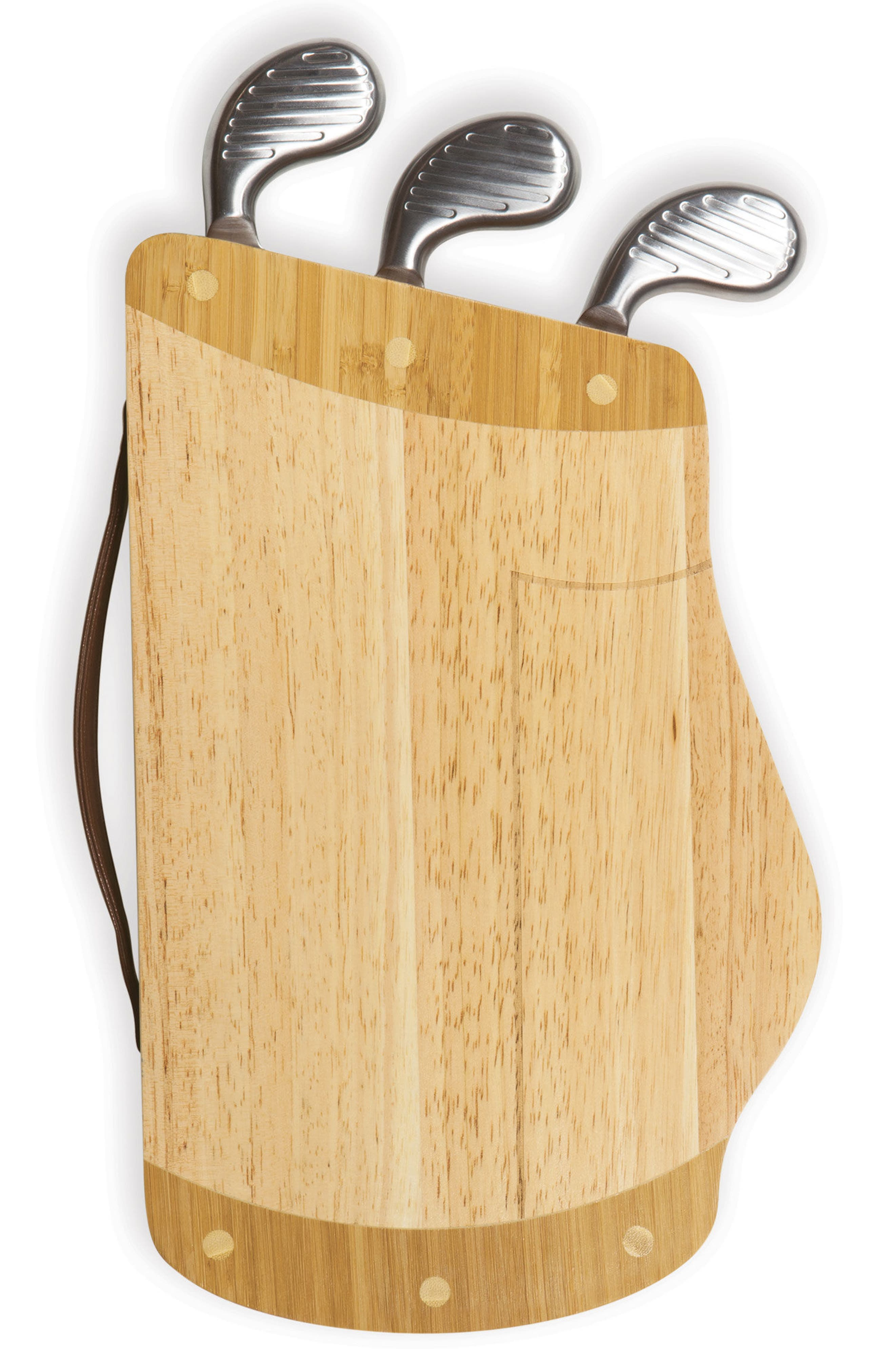 Caddy Cheese Board & Tools Set,                             Alternate thumbnail 5, color,                             Brown