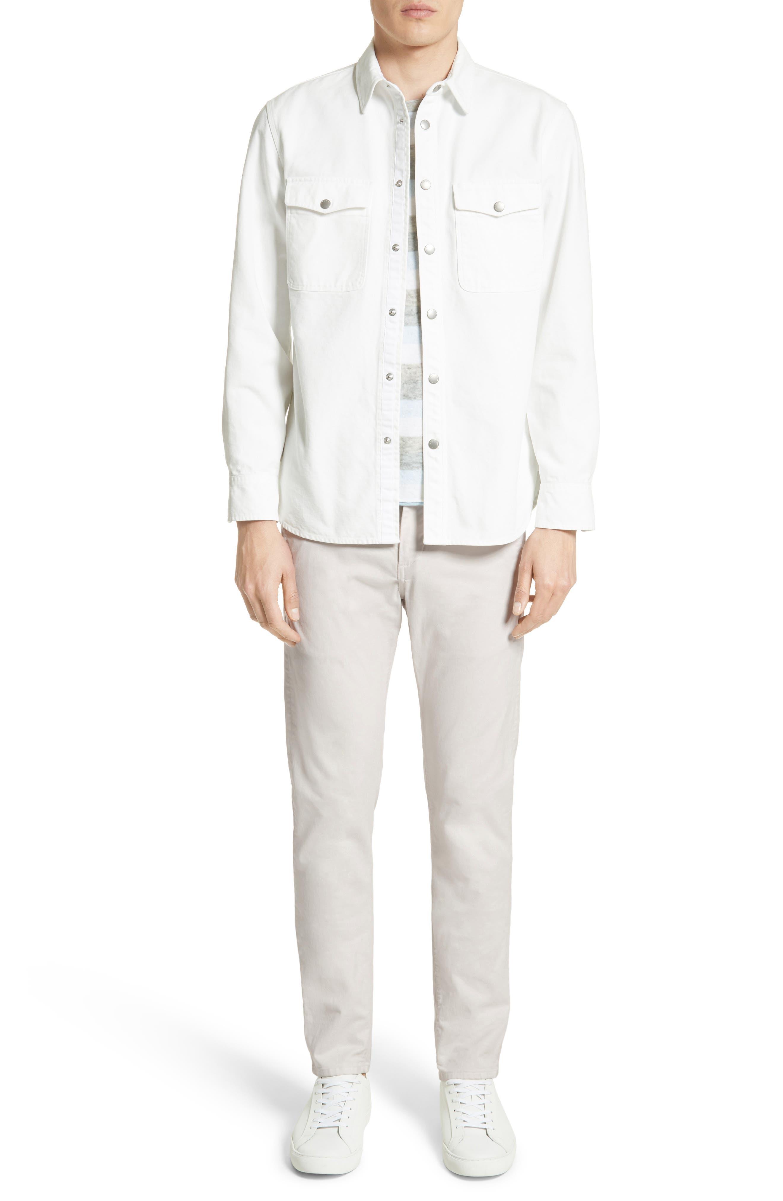 Alternate Image 6  - rag & bone Tripp Cotton & Wool T-Shirt