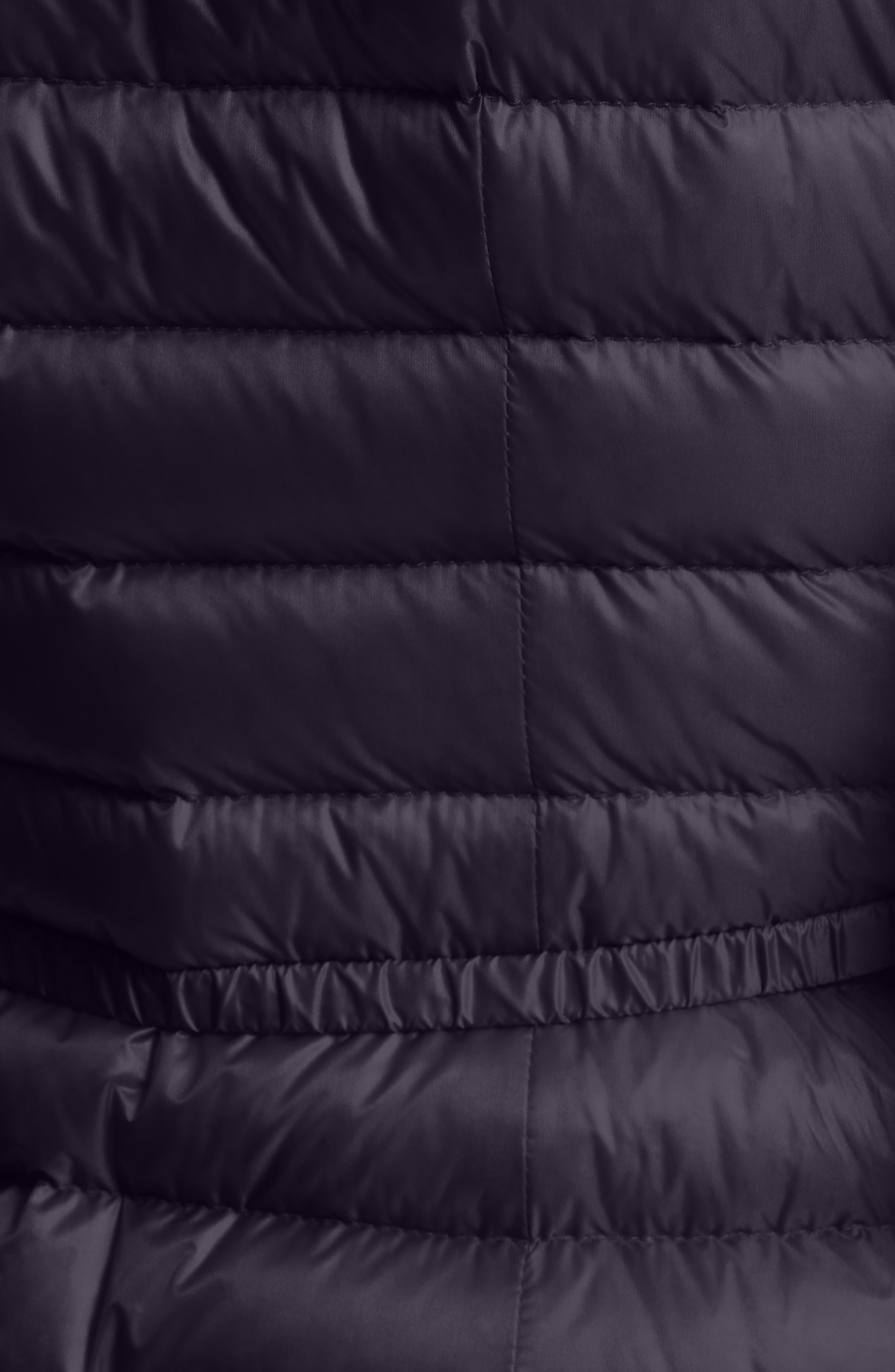 Alternate Image 4  - Moncler Barbel Water Resistant Long Hooded Down Jacket