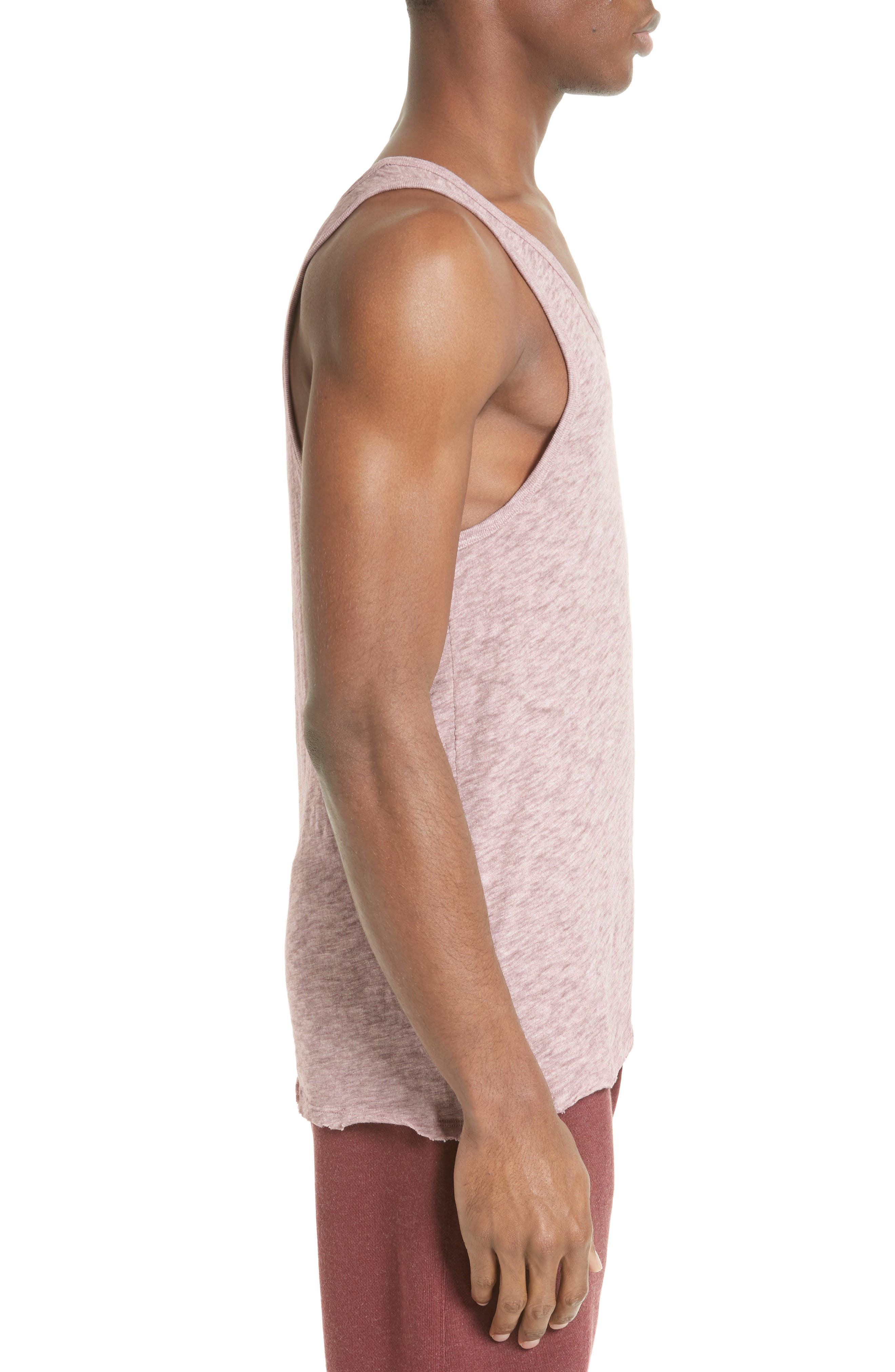 Slub Jersey Tank,                             Alternate thumbnail 3, color,                             Purplestone
