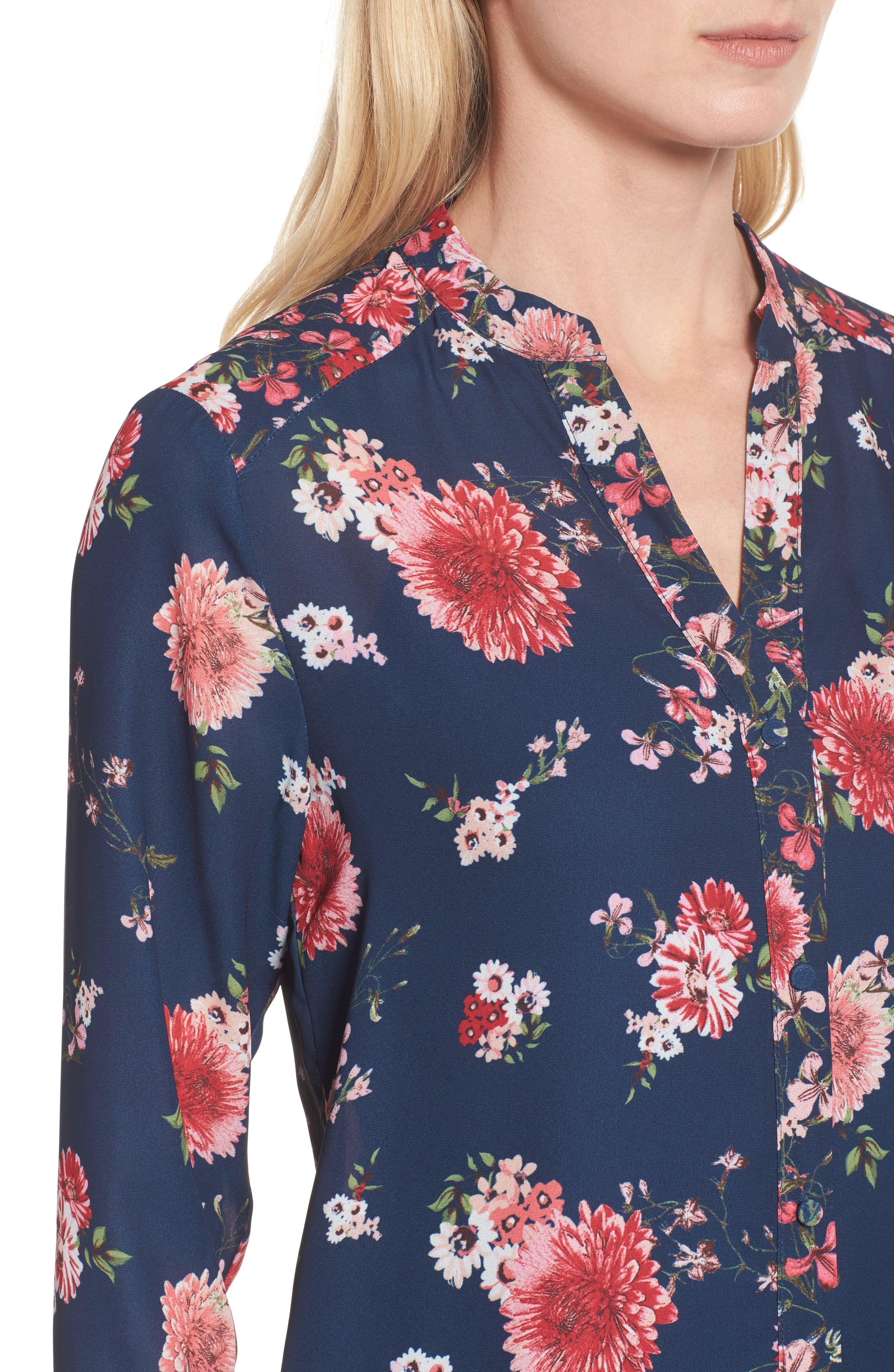 Alternate Image 4  - KUT from the Kloth Liliana Floral Blouse
