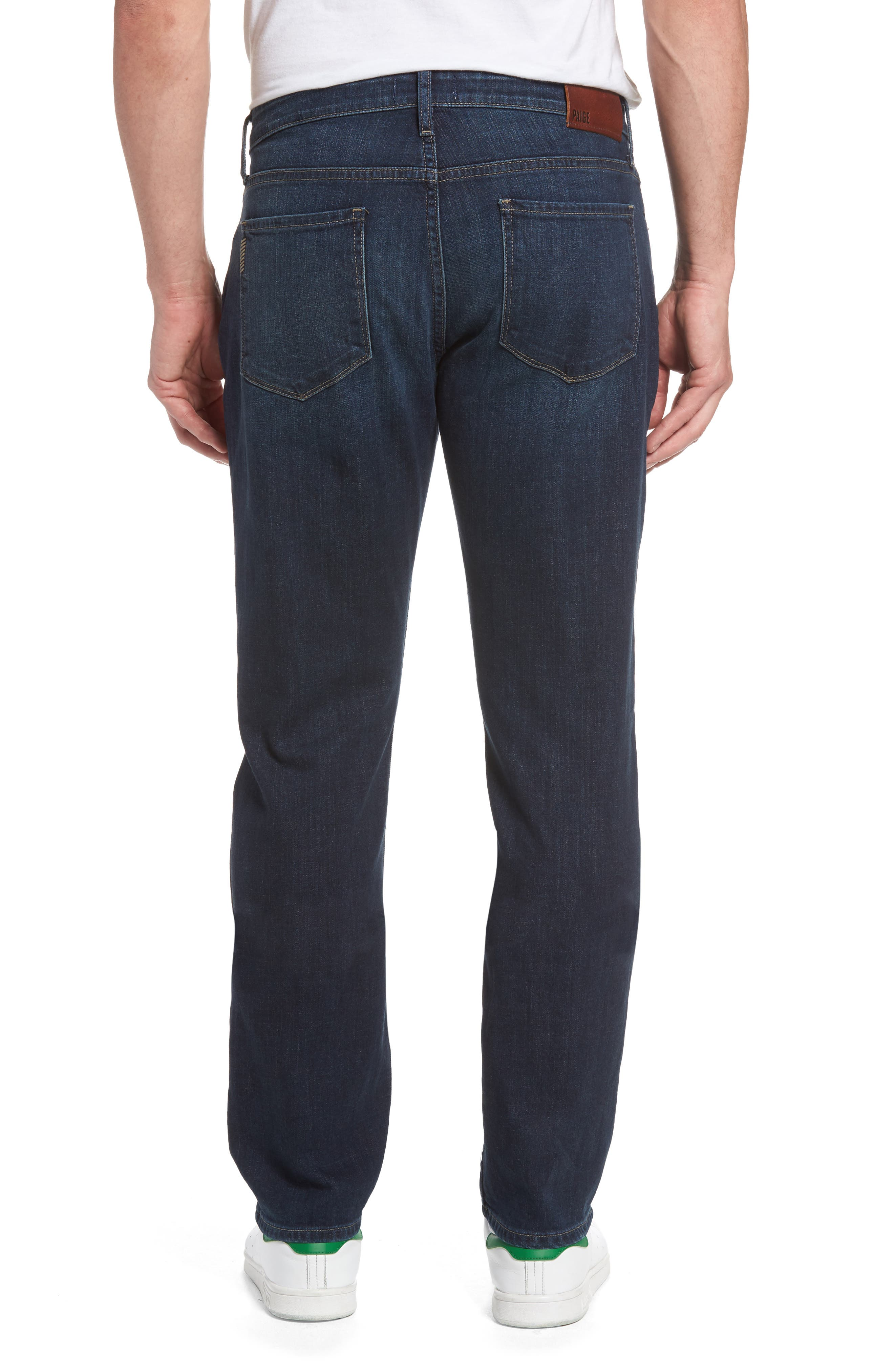 Alternate Image 2  - PAIGE Federal Slim Straight Leg Jeans (Arnold)