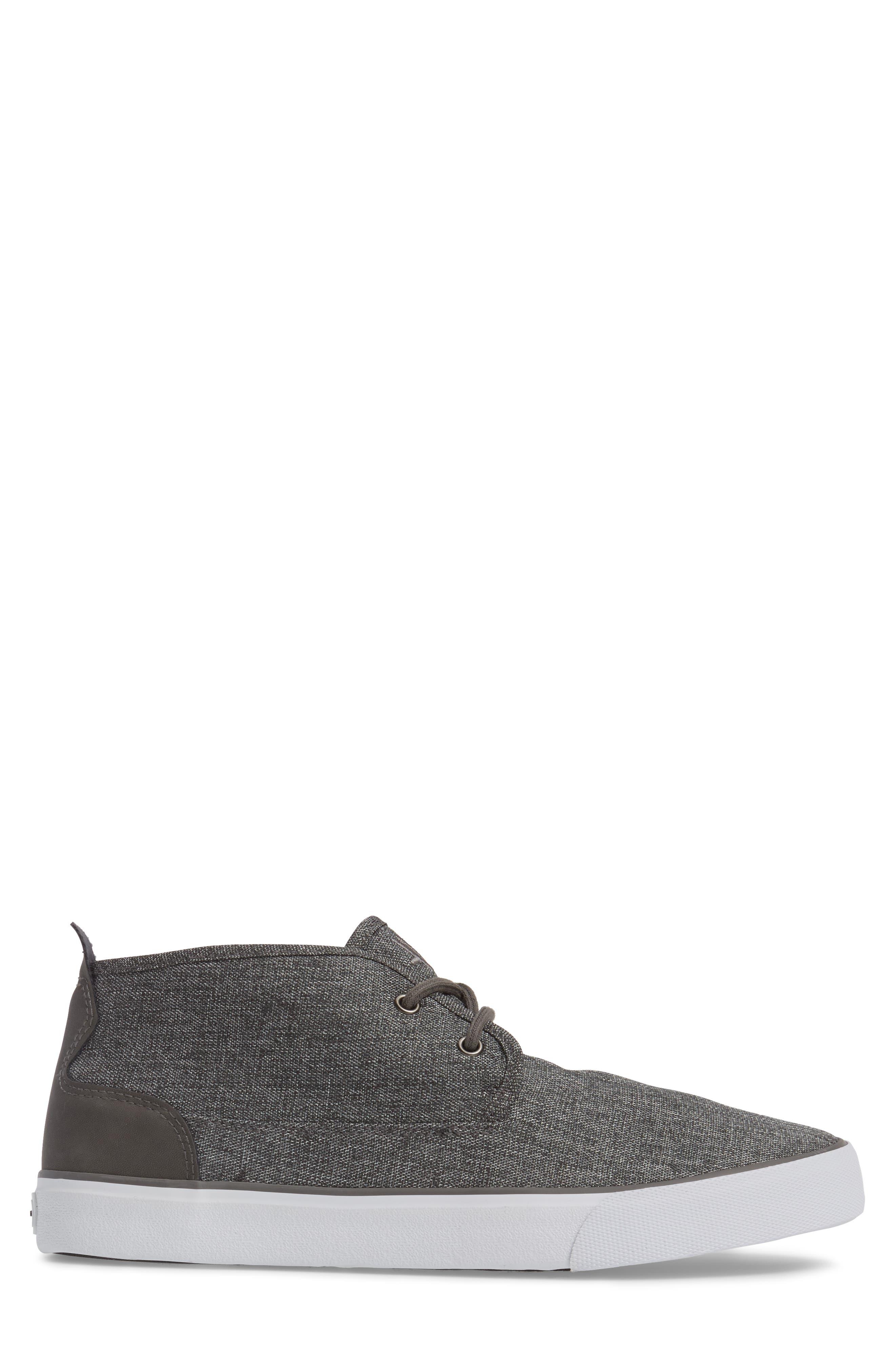 Reade Chukka Sneaker,                             Alternate thumbnail 3, color,                             Charcoal/Dk Charcoal/White