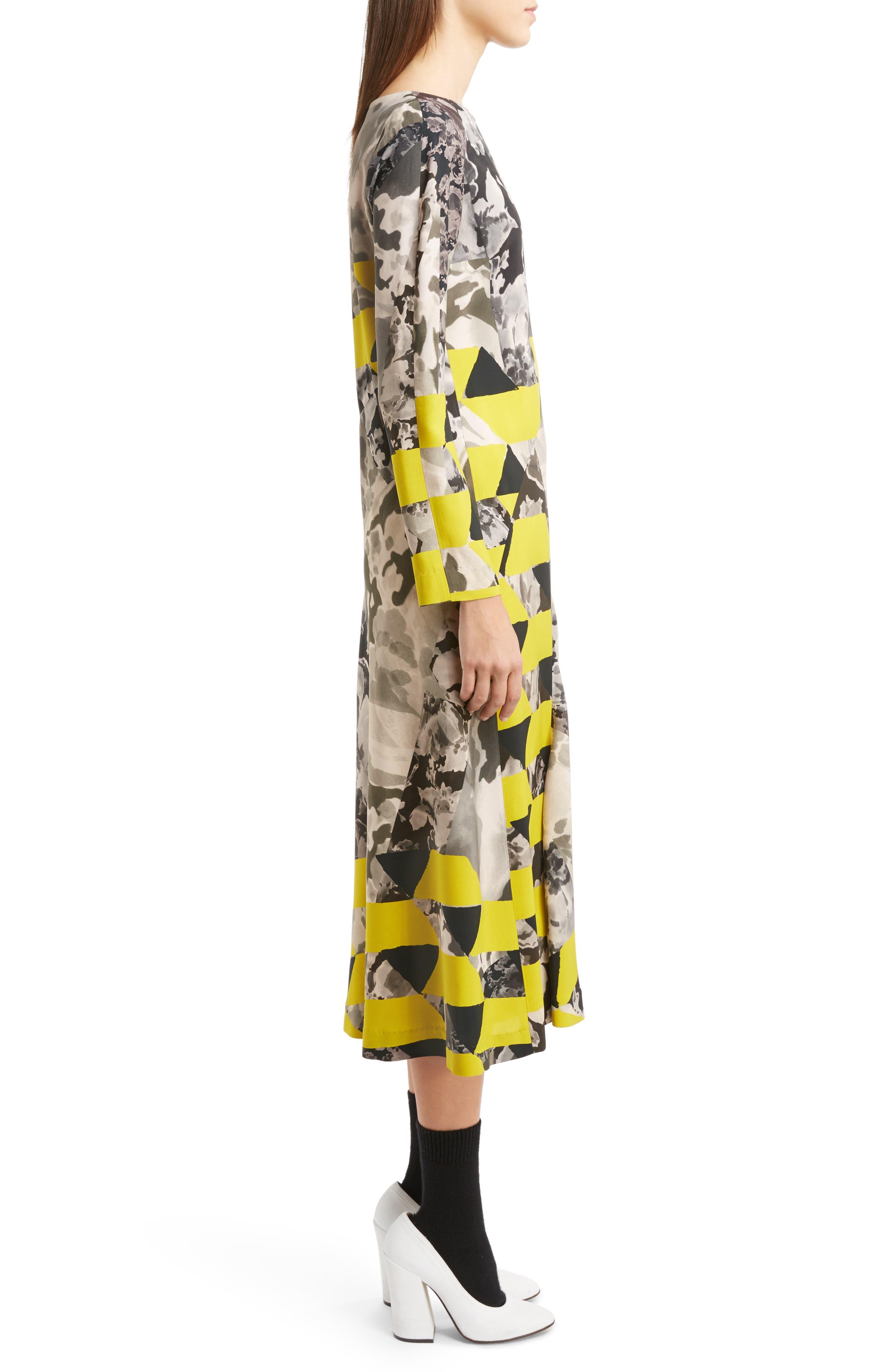 Alternate Image 4  - Dries Van Noten Mix Print Midi Dress