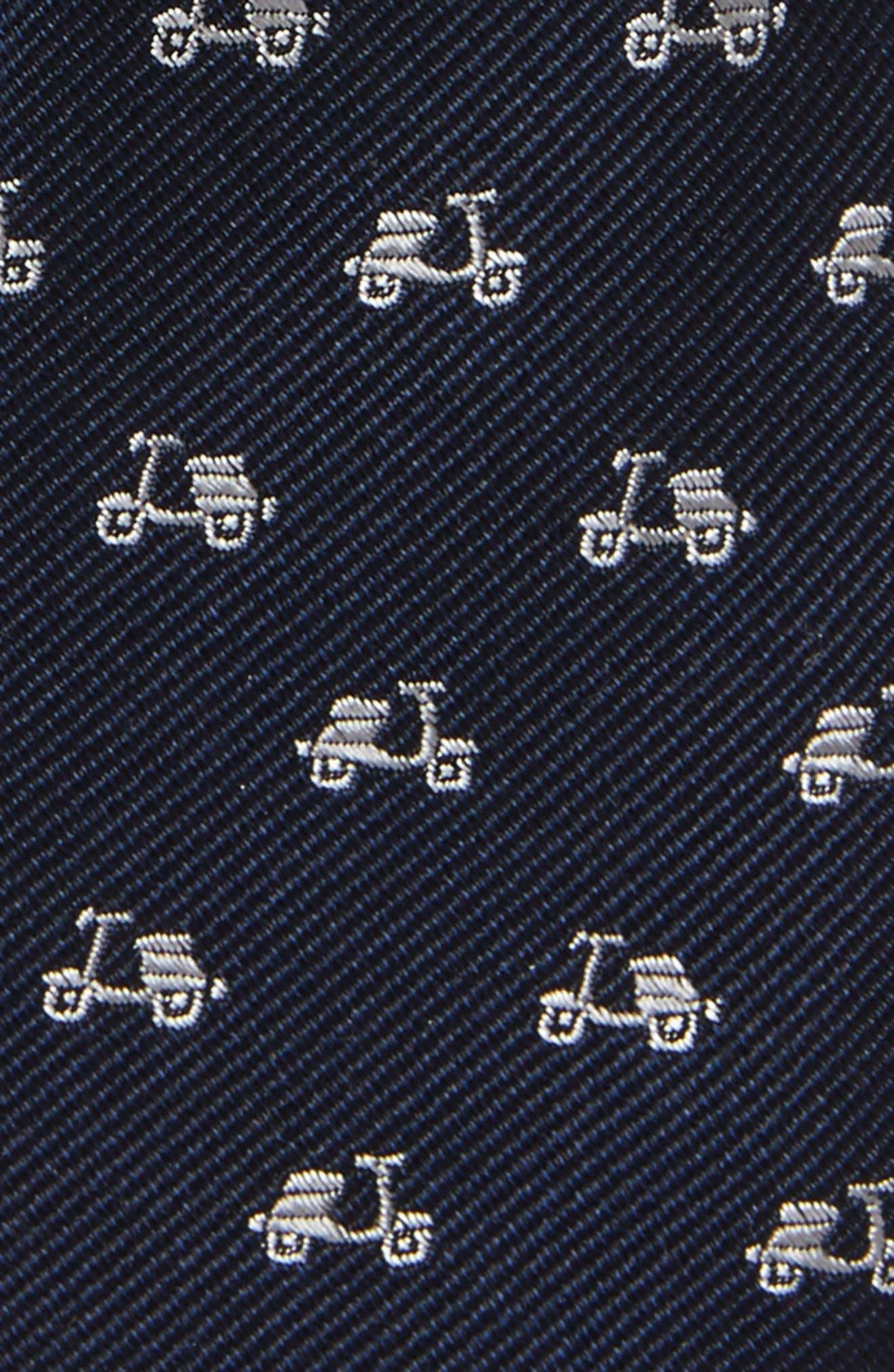 Alternate Image 2  - Nordstrom Ship Print Silk Tie (Big Boys)