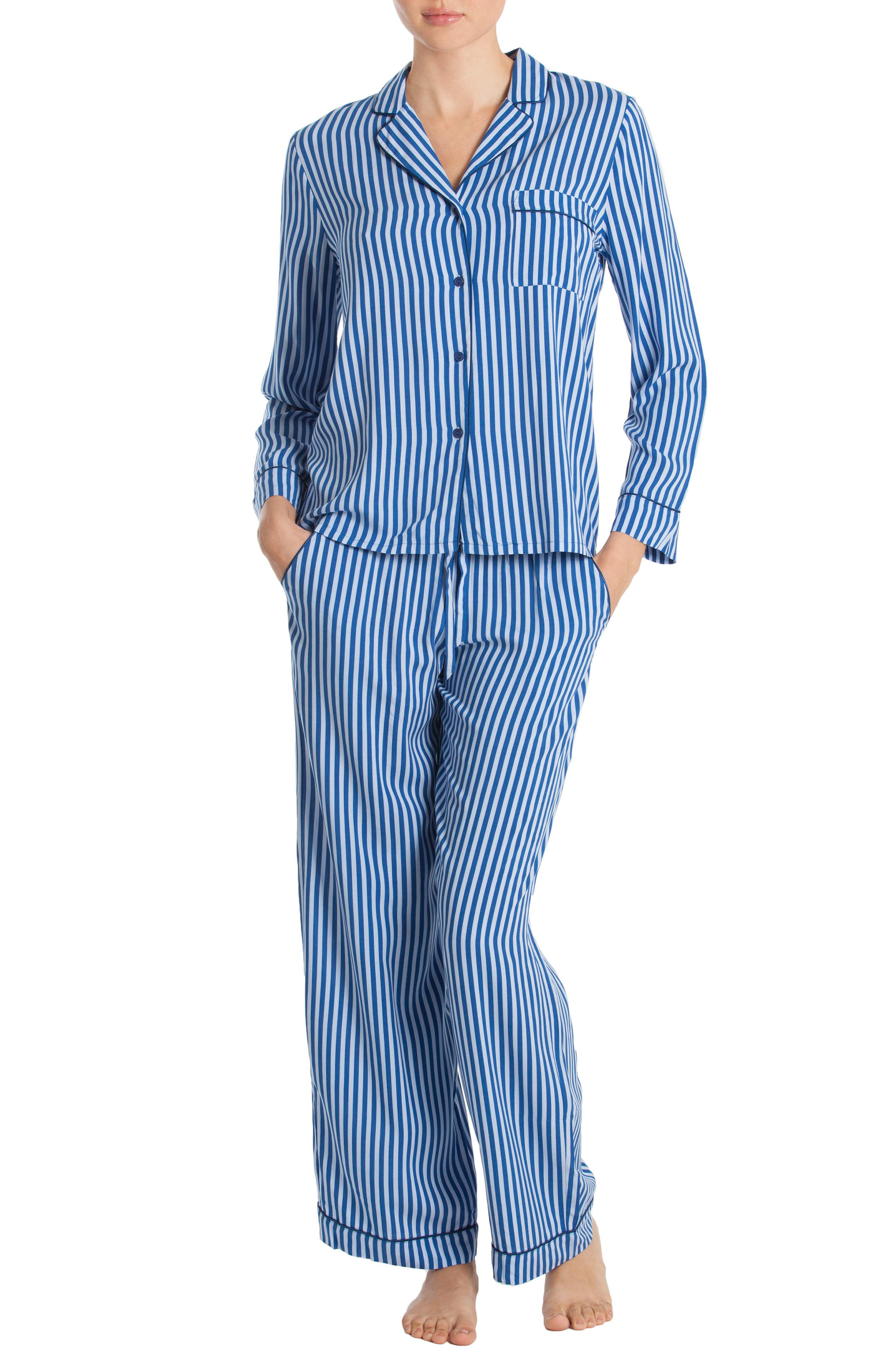 Main Image - In Bloom by Jonquil Stripe Pajamas