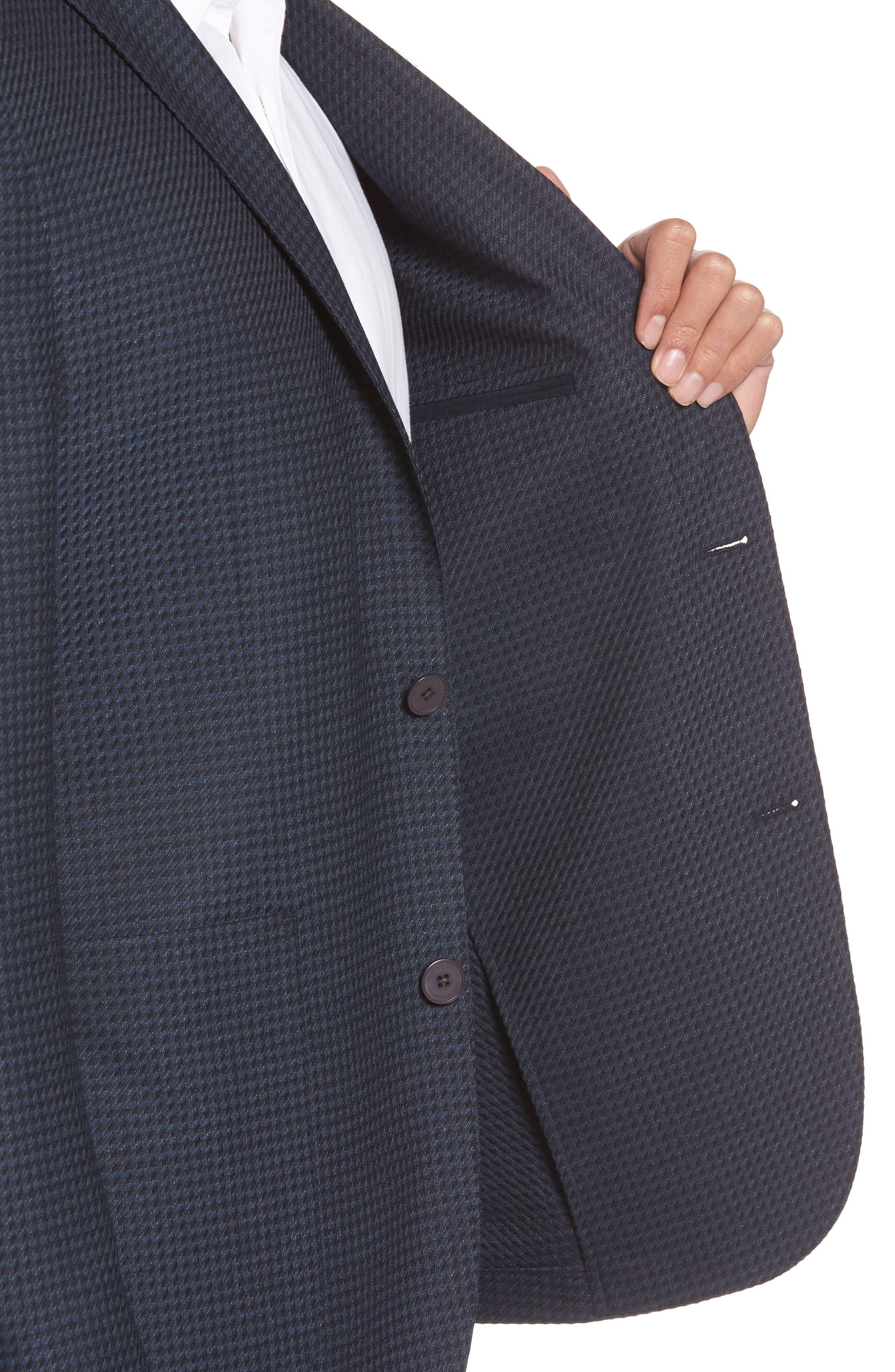 Alternate Image 4  - Vince Camuto Digital Houndstooth Wool Blend Sport Coat