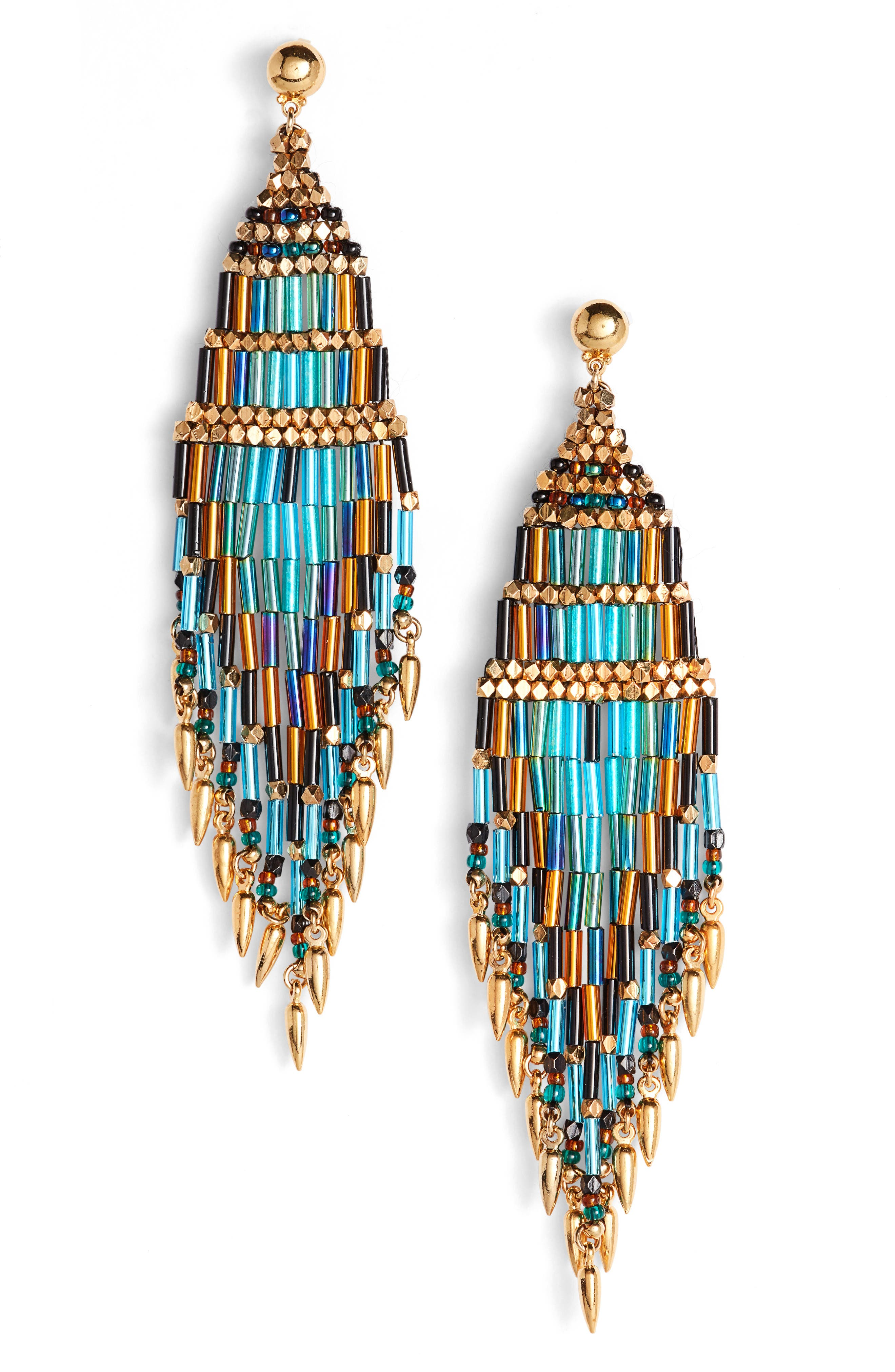 Alternate Image 1 Selected - Gas Bijoux Ulla Beaded Drop Earrings
