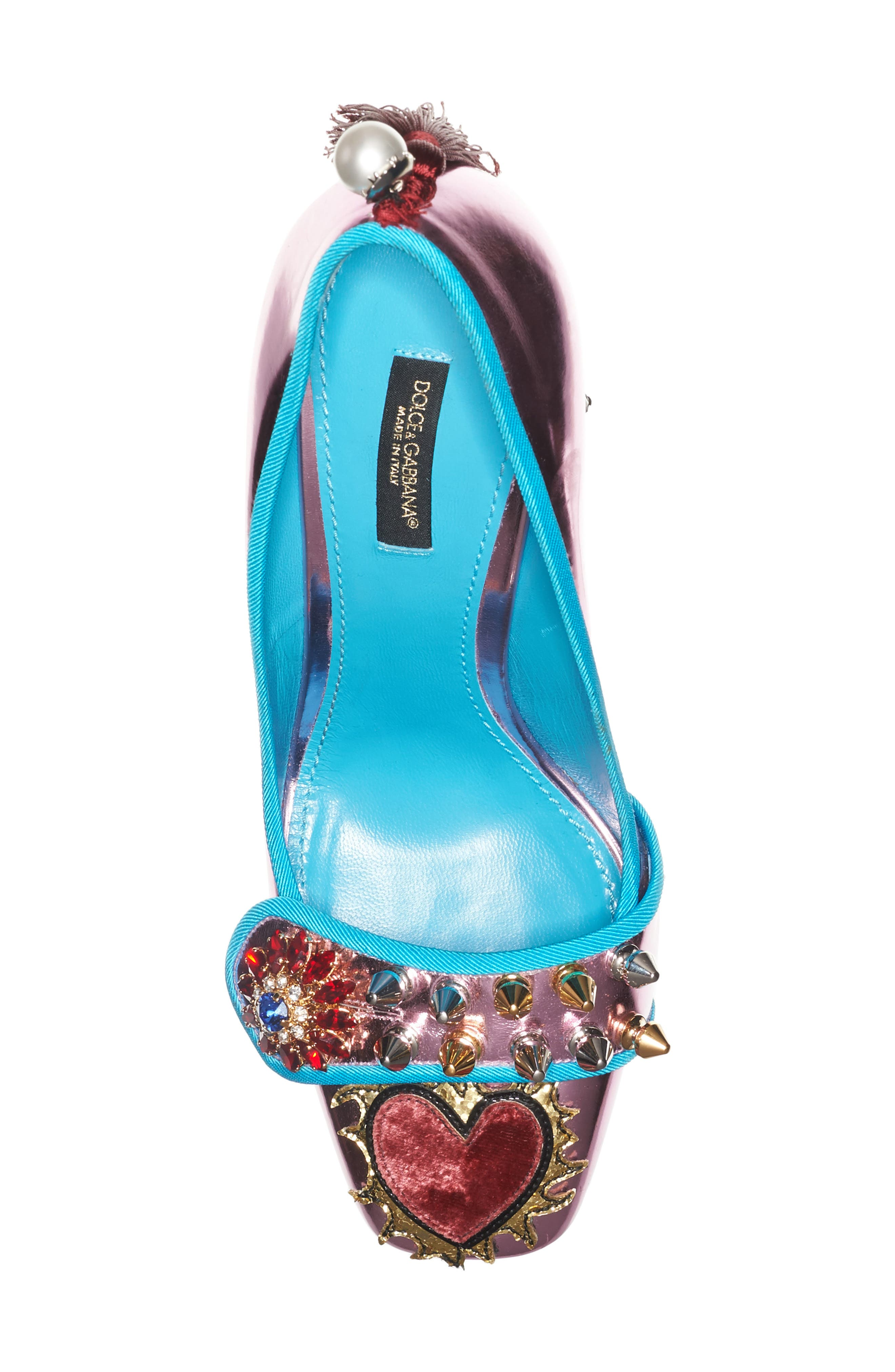 Alternate Image 3  - Dolce&Gabbana Mother of Pearl Pump (Women)