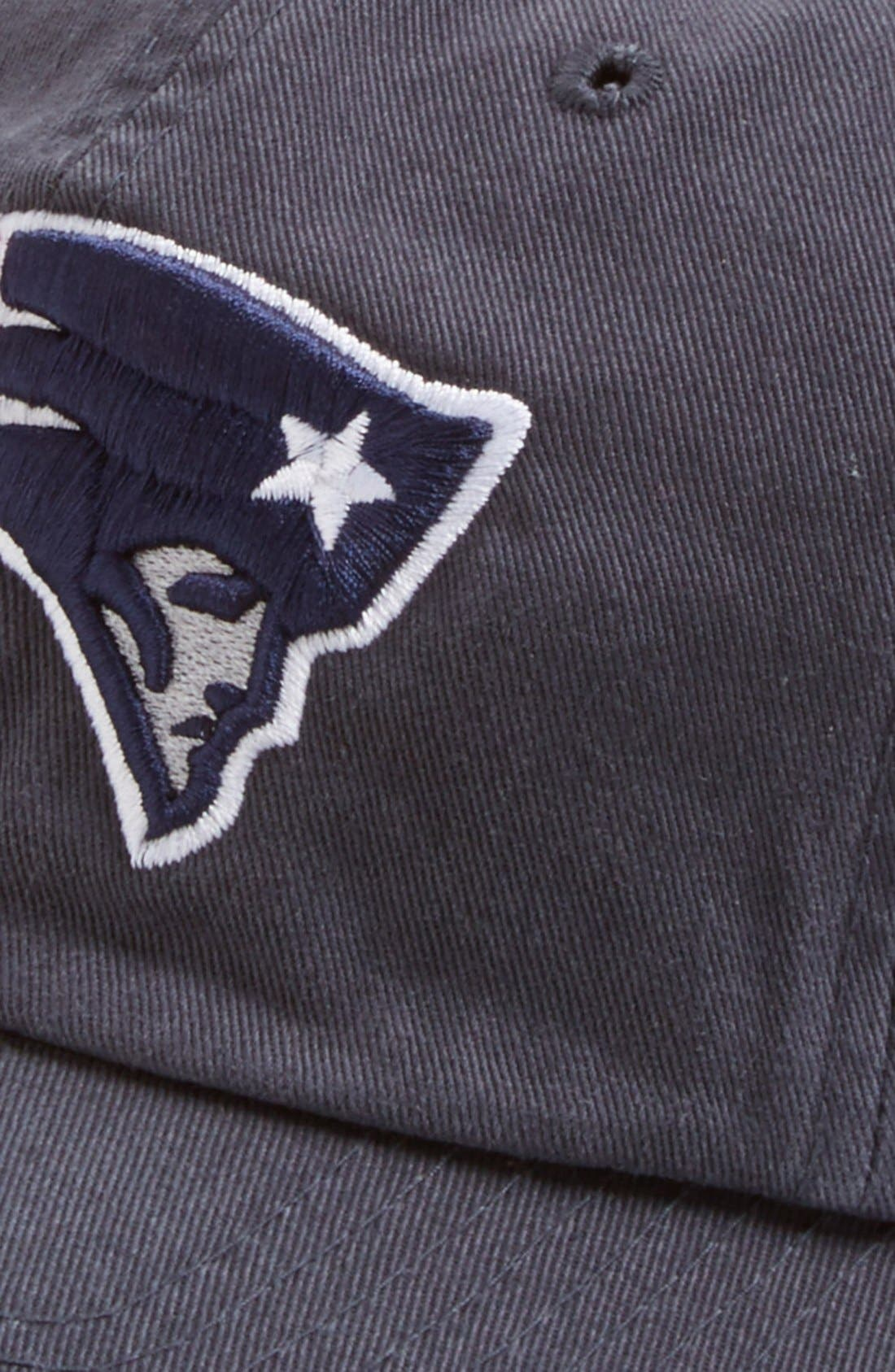 'New England Patriots - Clean Up' Cap,                             Alternate thumbnail 2, color,                             Navy