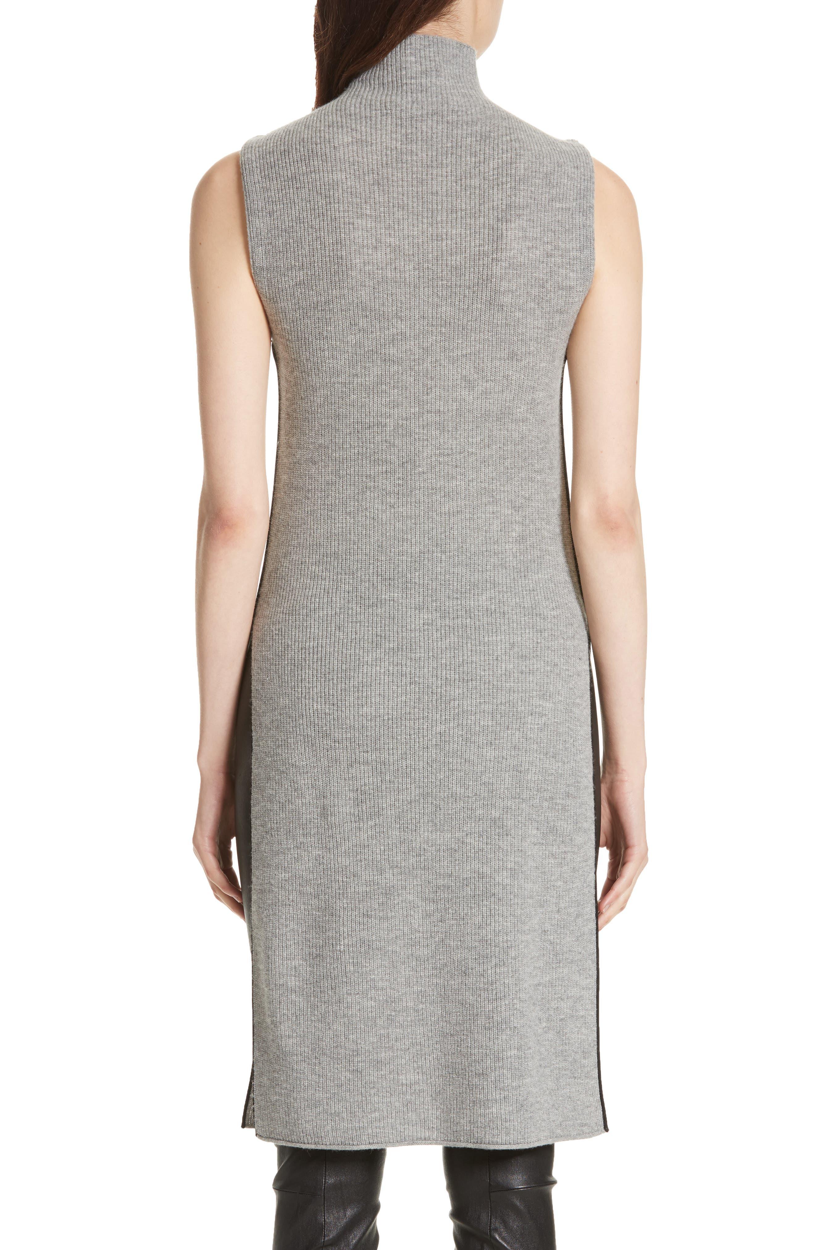 Alternate Image 2  - Alice + Olivia Stori Double Slit Sweater Dress