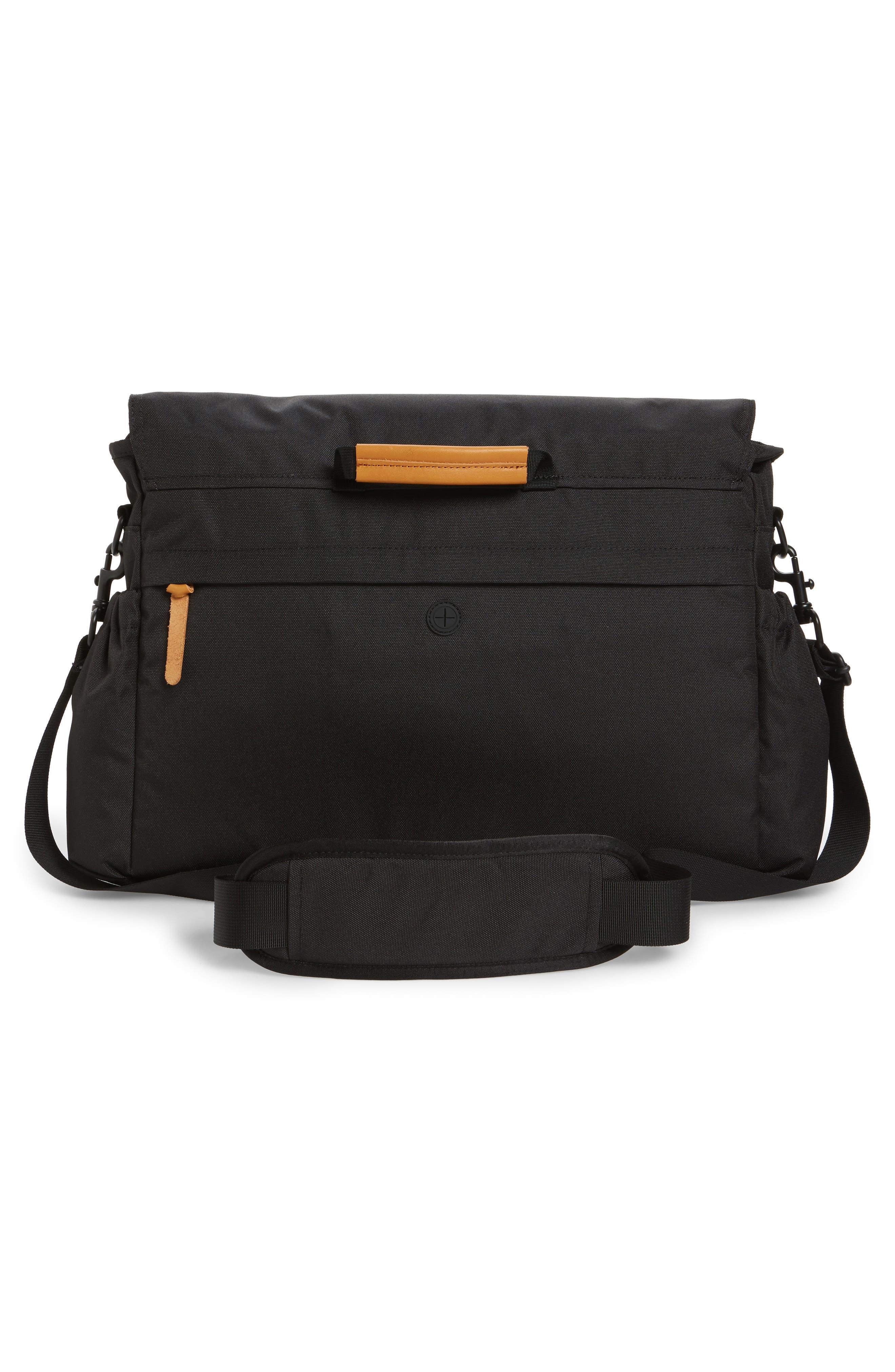 Crossridge Messenger Bag,                             Alternate thumbnail 3, color,                             Black