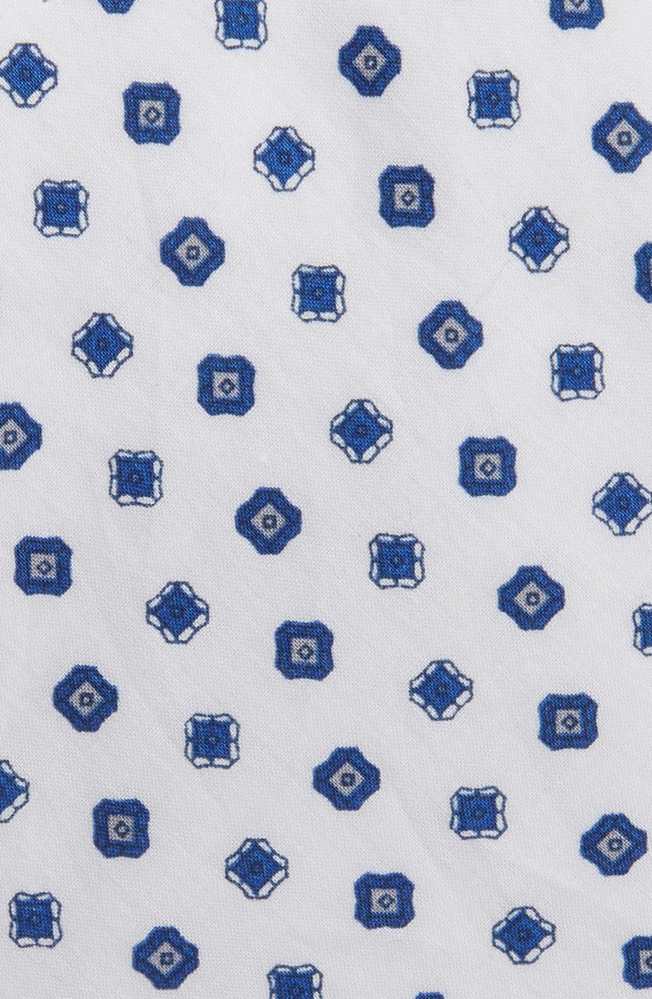Alternate Image 2  - 1901 Medallion Cotton Tie