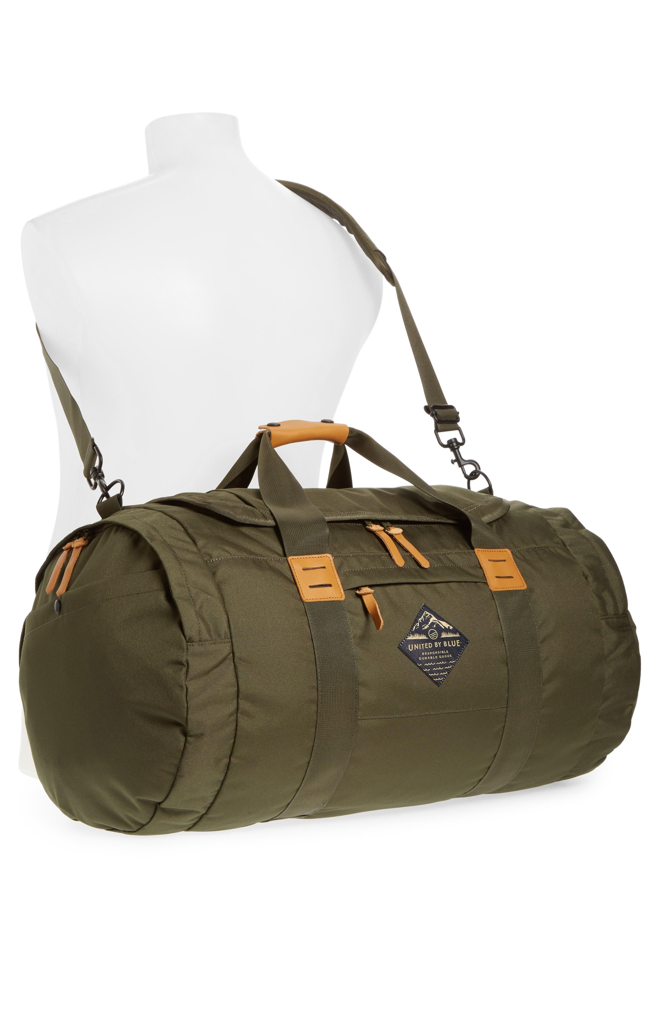 Arc Duffel Bag,                             Alternate thumbnail 2, color,                             Olive