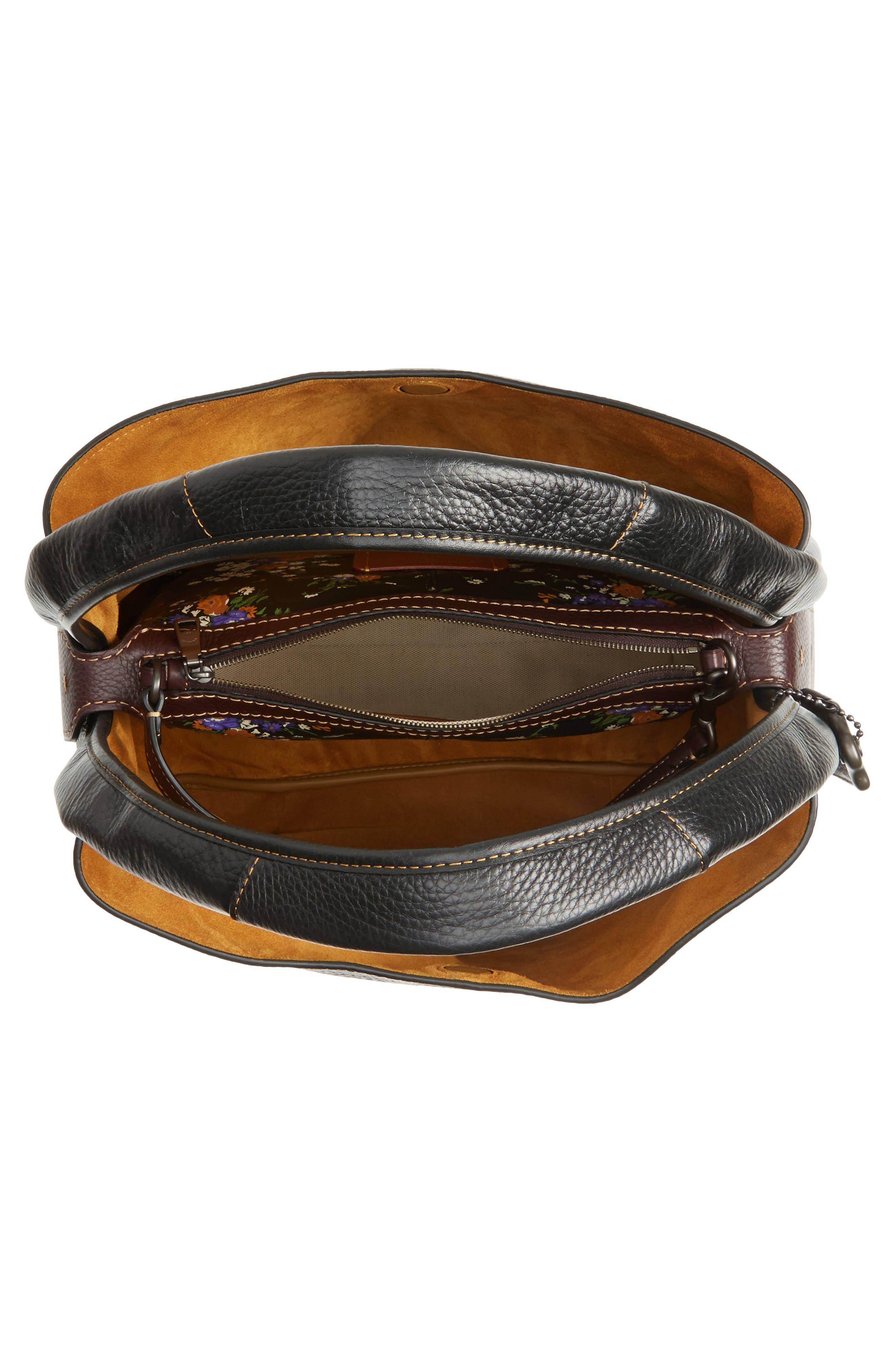 Alternate Image 4  - COACH 1941 Bandit Leather Hobo & Removable Shoulder Bag