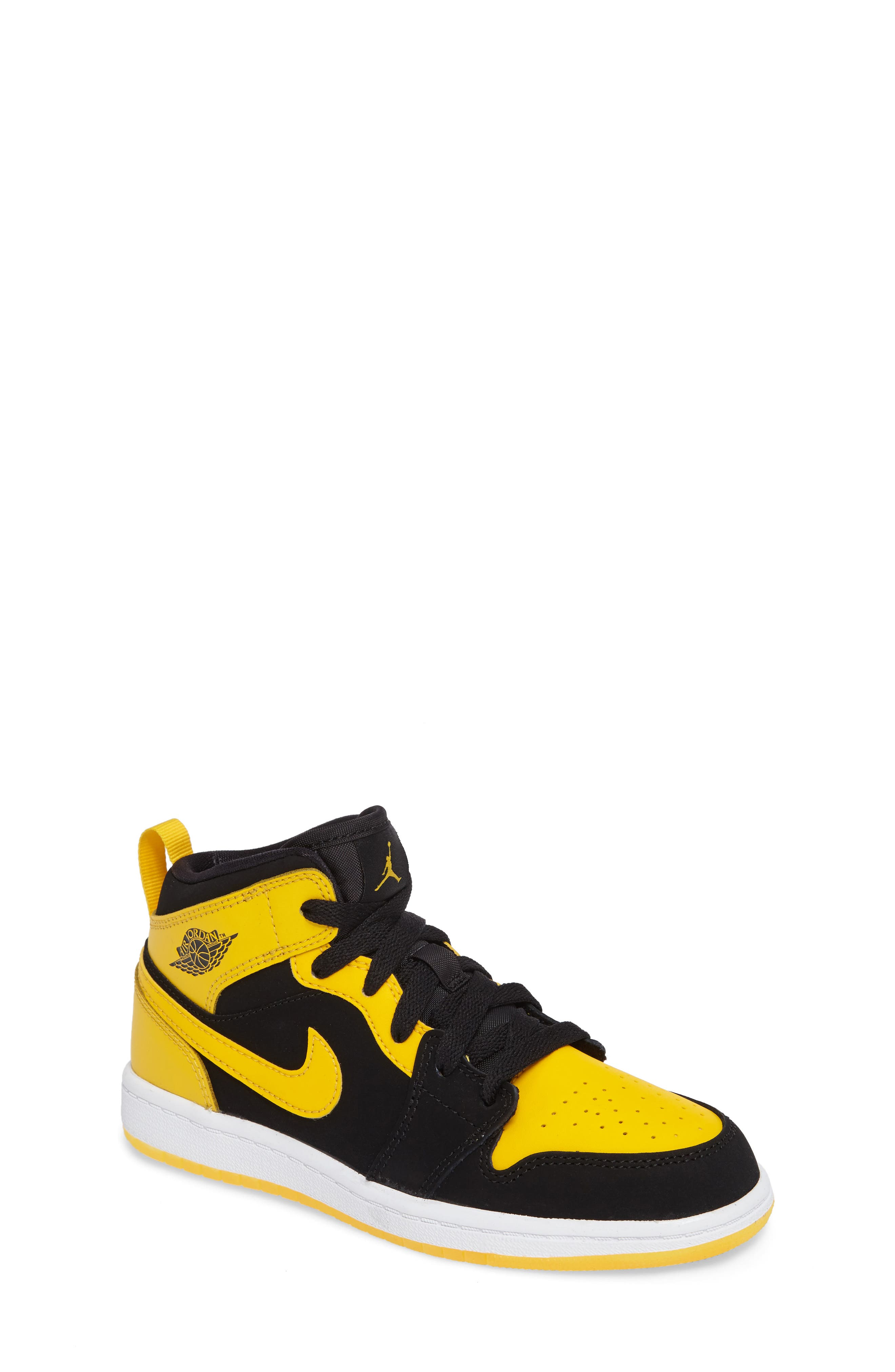 Nike 'Air Jordan 1' Mid Sneaker (Toddler & Little Kid)