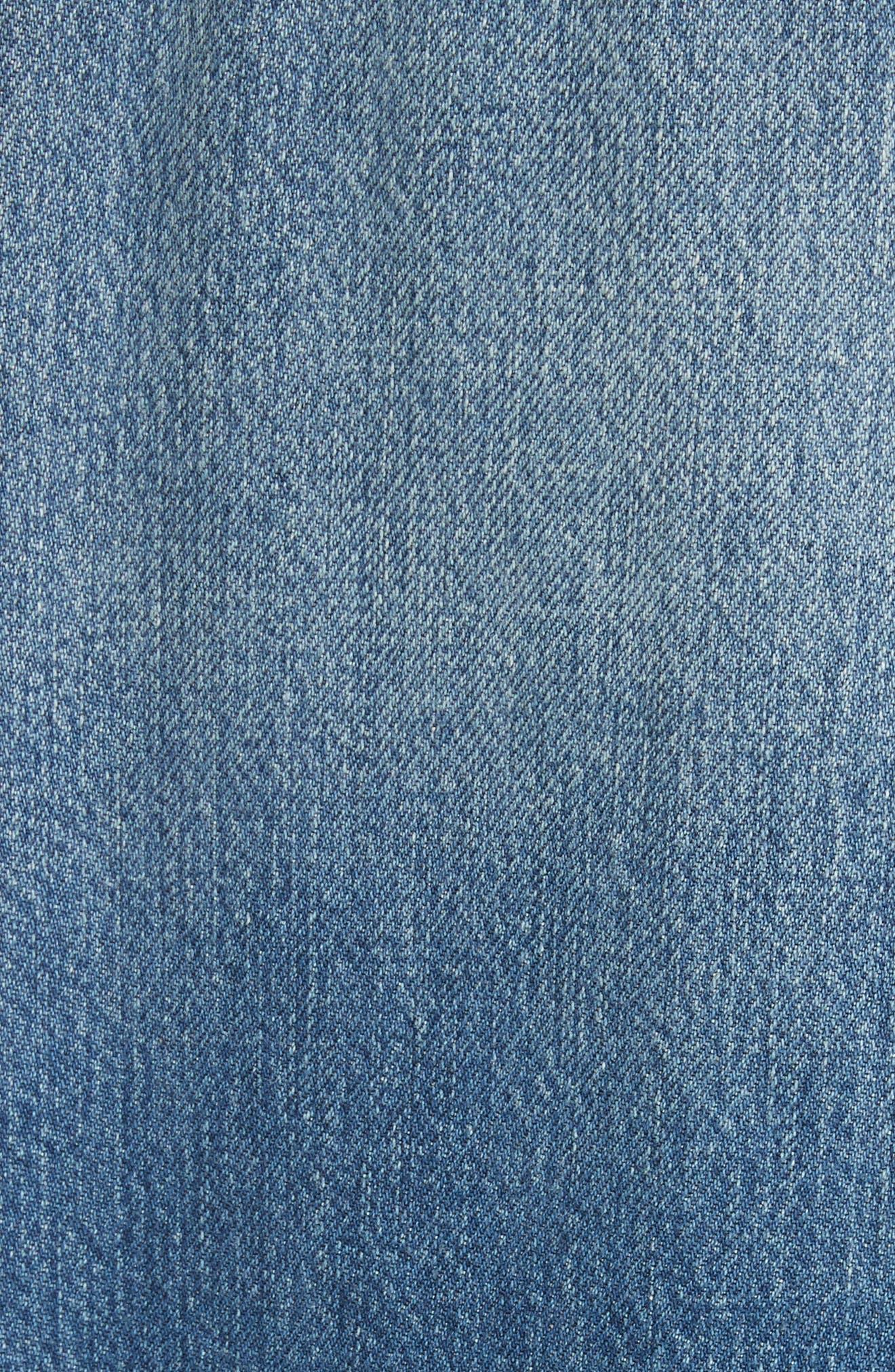 Alternate Image 6  - FRAME Le Studded Denim Jacket