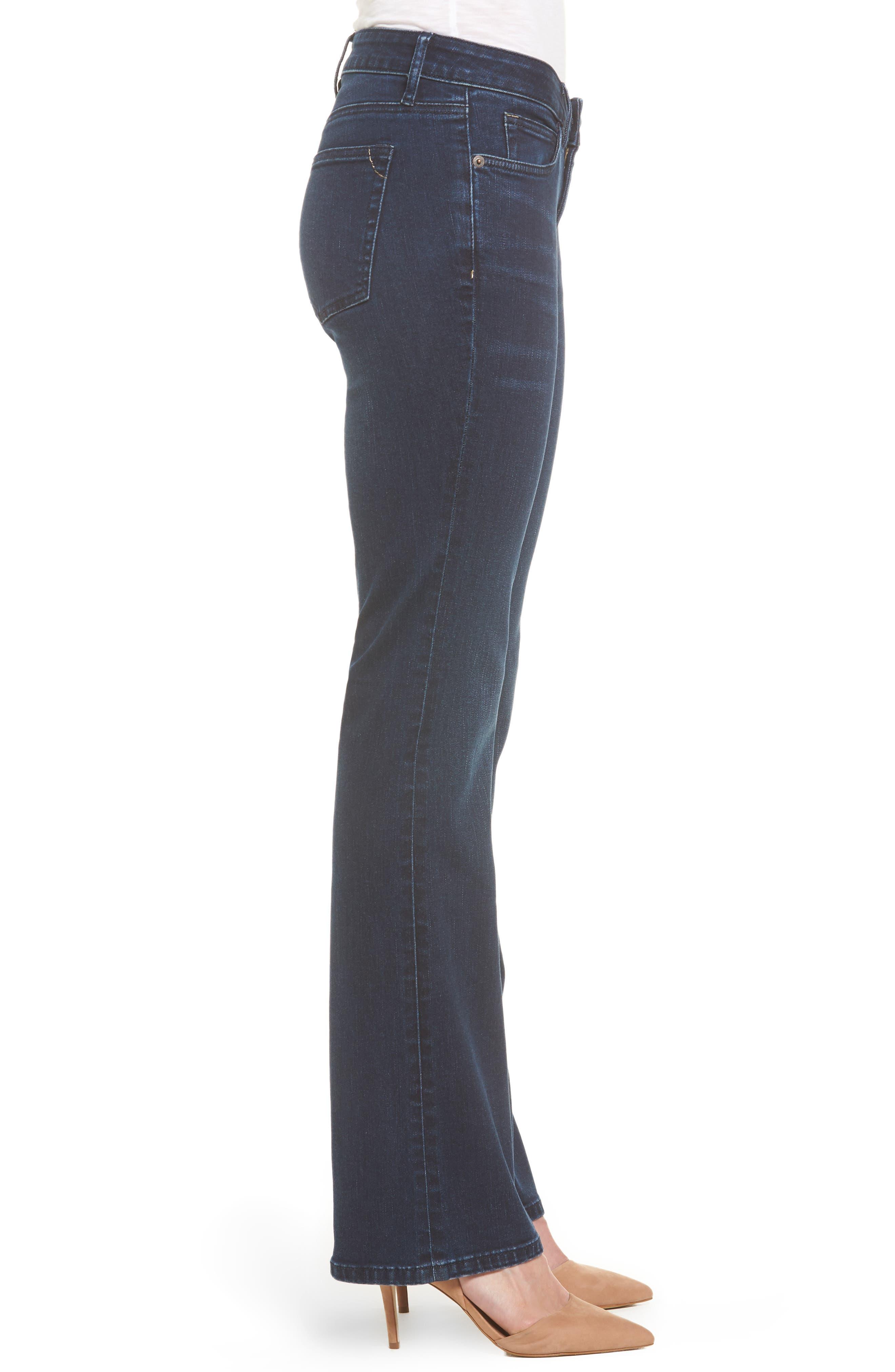 Alternate Image 3  - Tommy Bahama Tema Modern Bootcut Jeans (Dark Horizon)