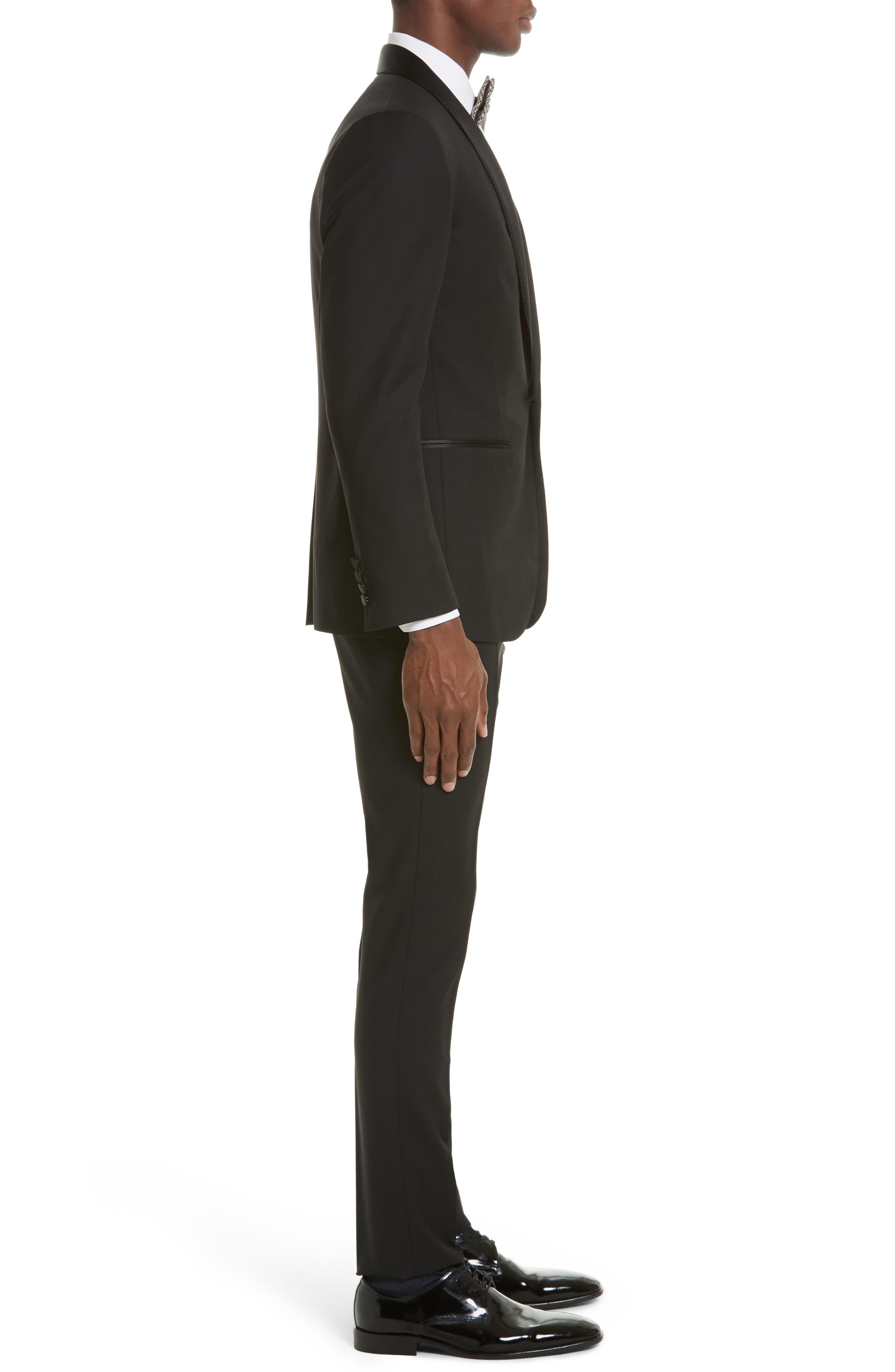 Alternate Image 3  - Lanvin Shawl Lapel Wool Blend Tuxedo
