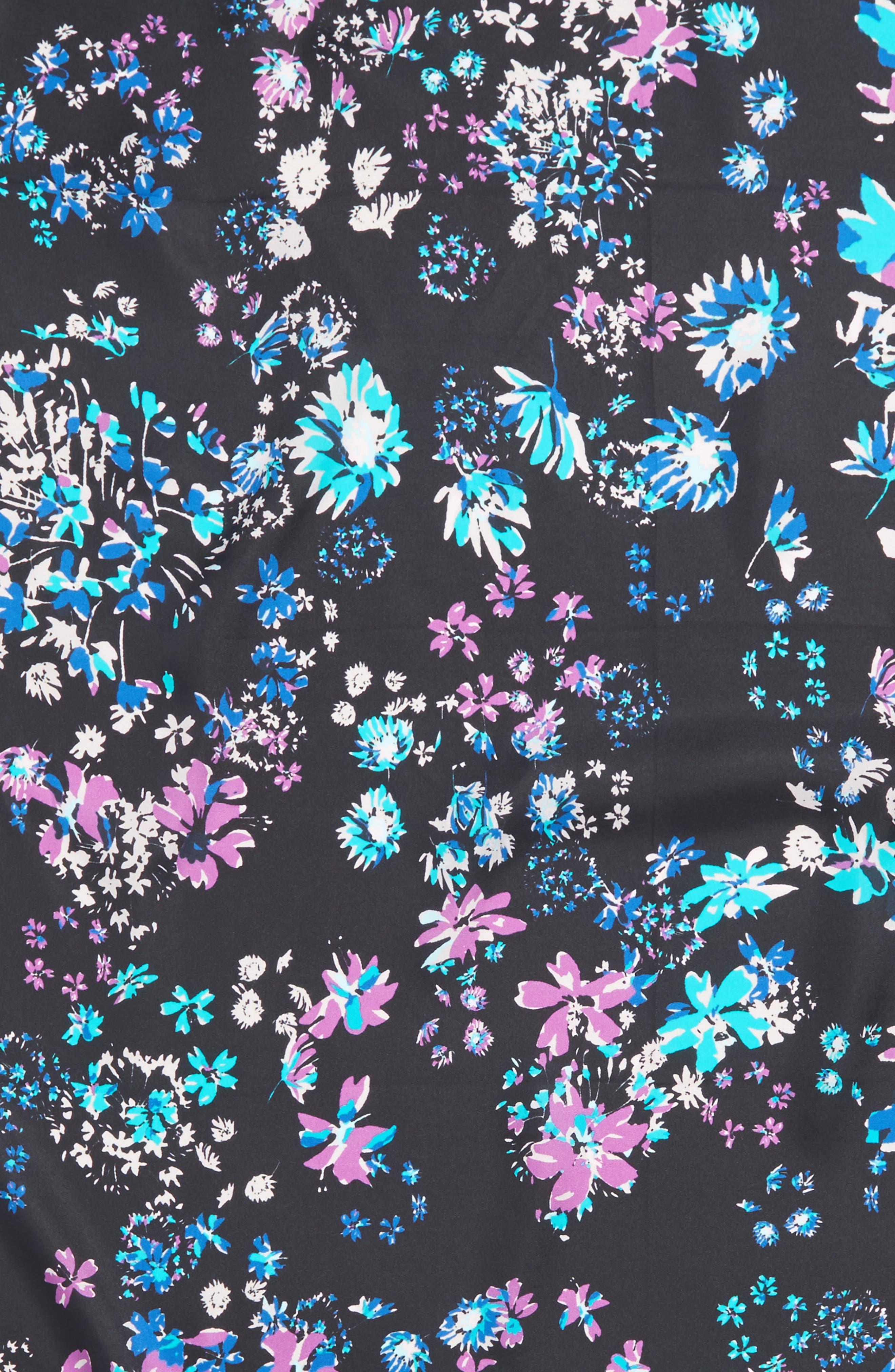 Alternate Image 4  - Rebecca Minkoff Watercolor Garden Square Silk Scarf