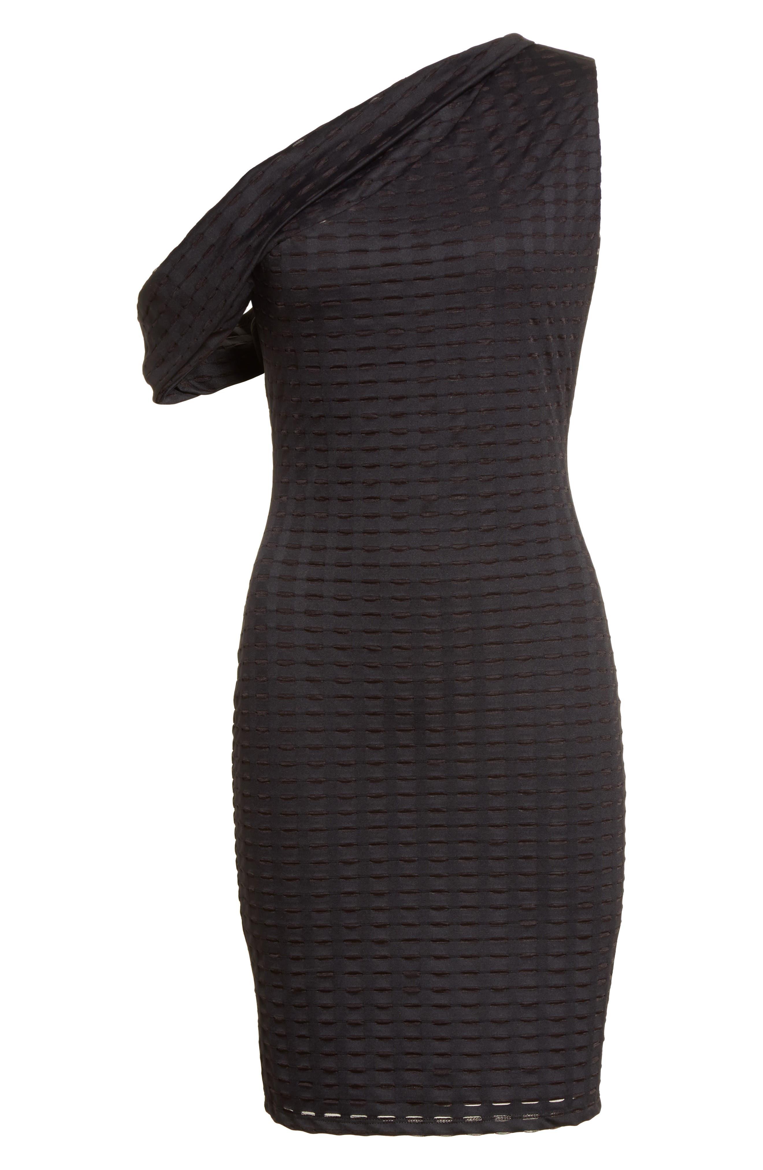 Alternate Image 6  - Twenty One-Shoulder Minidress