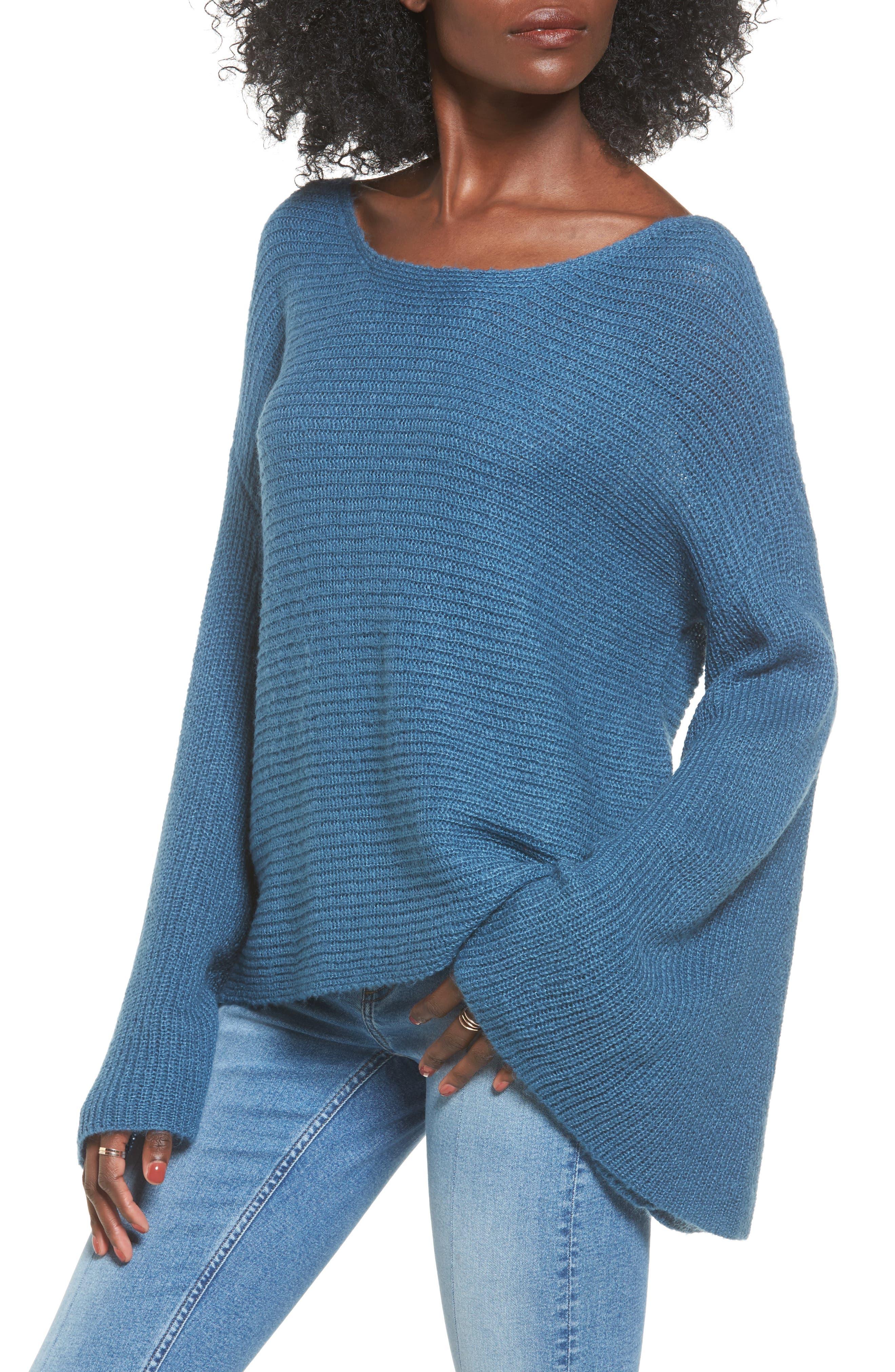 Alternate Image 1 Selected - BP. Flare Sleeve Sweater