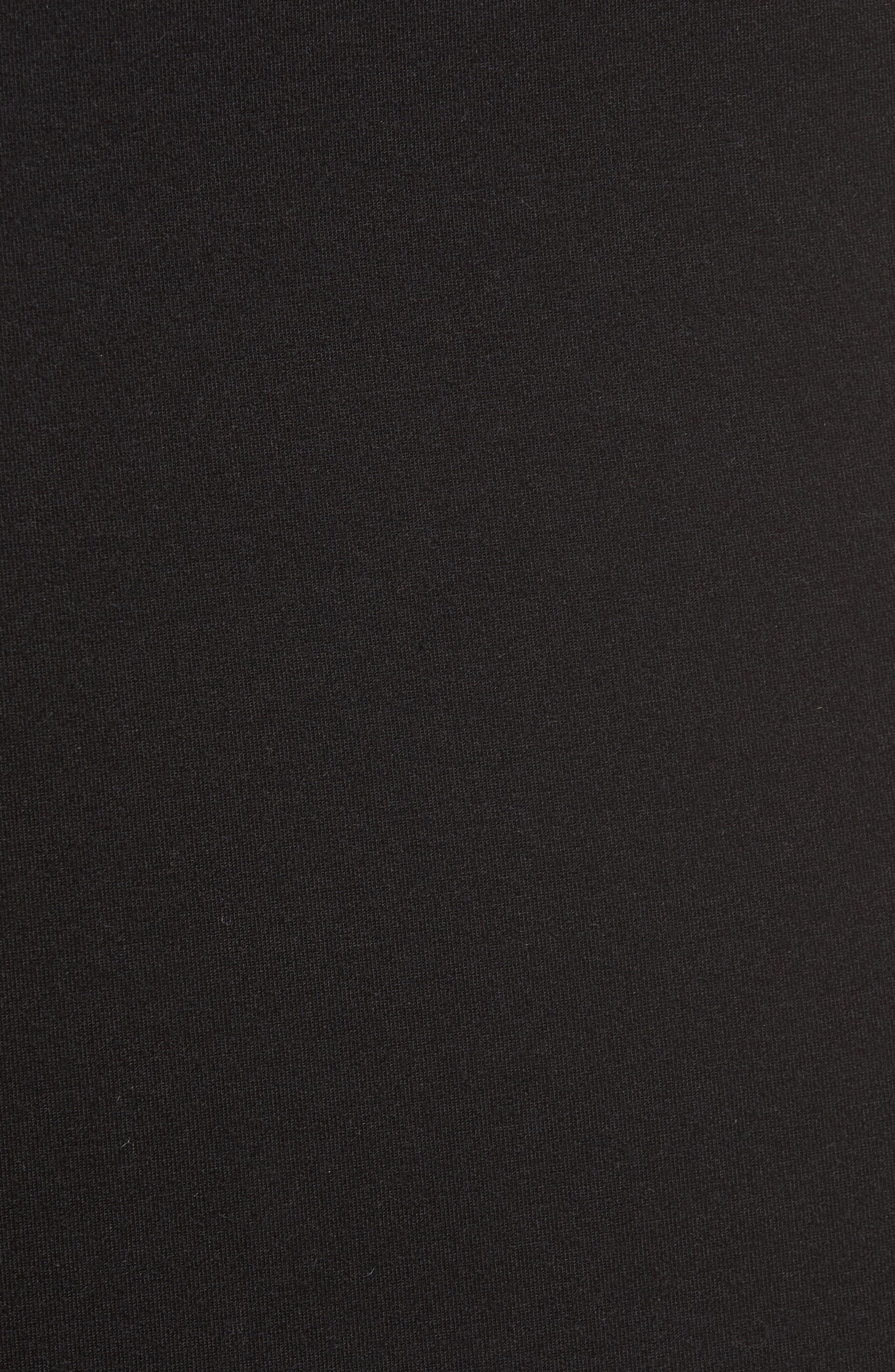 Alternate Image 5  - Trouvé Slash Bonded Midi Skirt