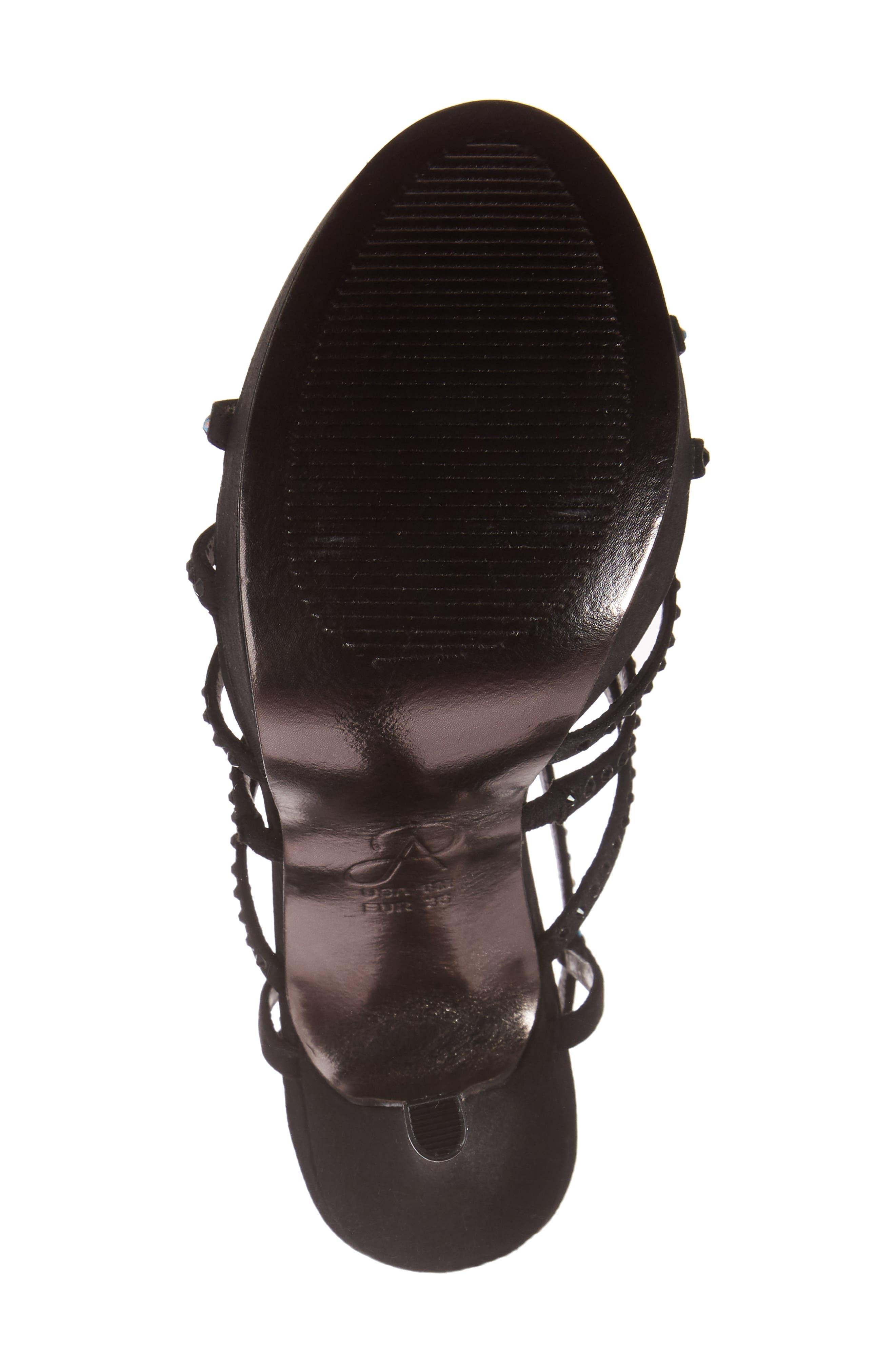 Alternate Image 6  - Adrianna Papell Miranda Embellished Platform Sandal (Women)