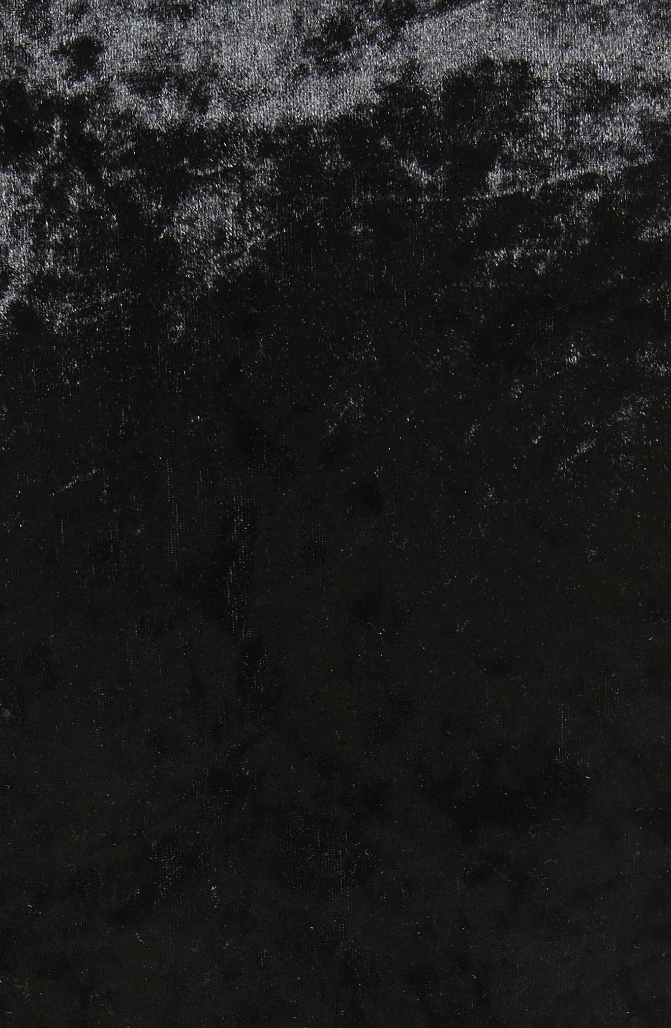 Alternate Image 5  - Twenty Velvet Bodysuit