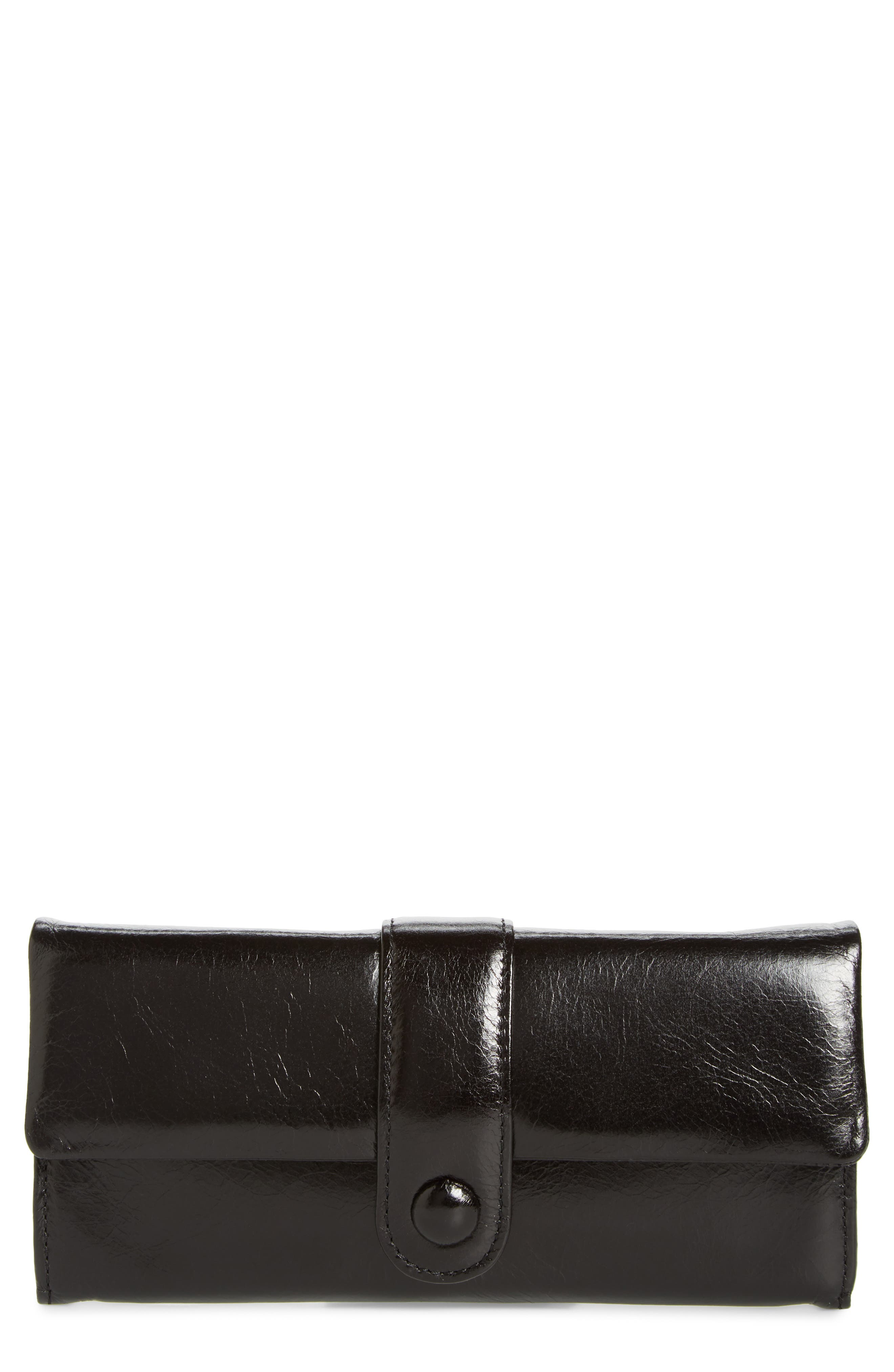 Hobo Lex Continental Leather Wallet