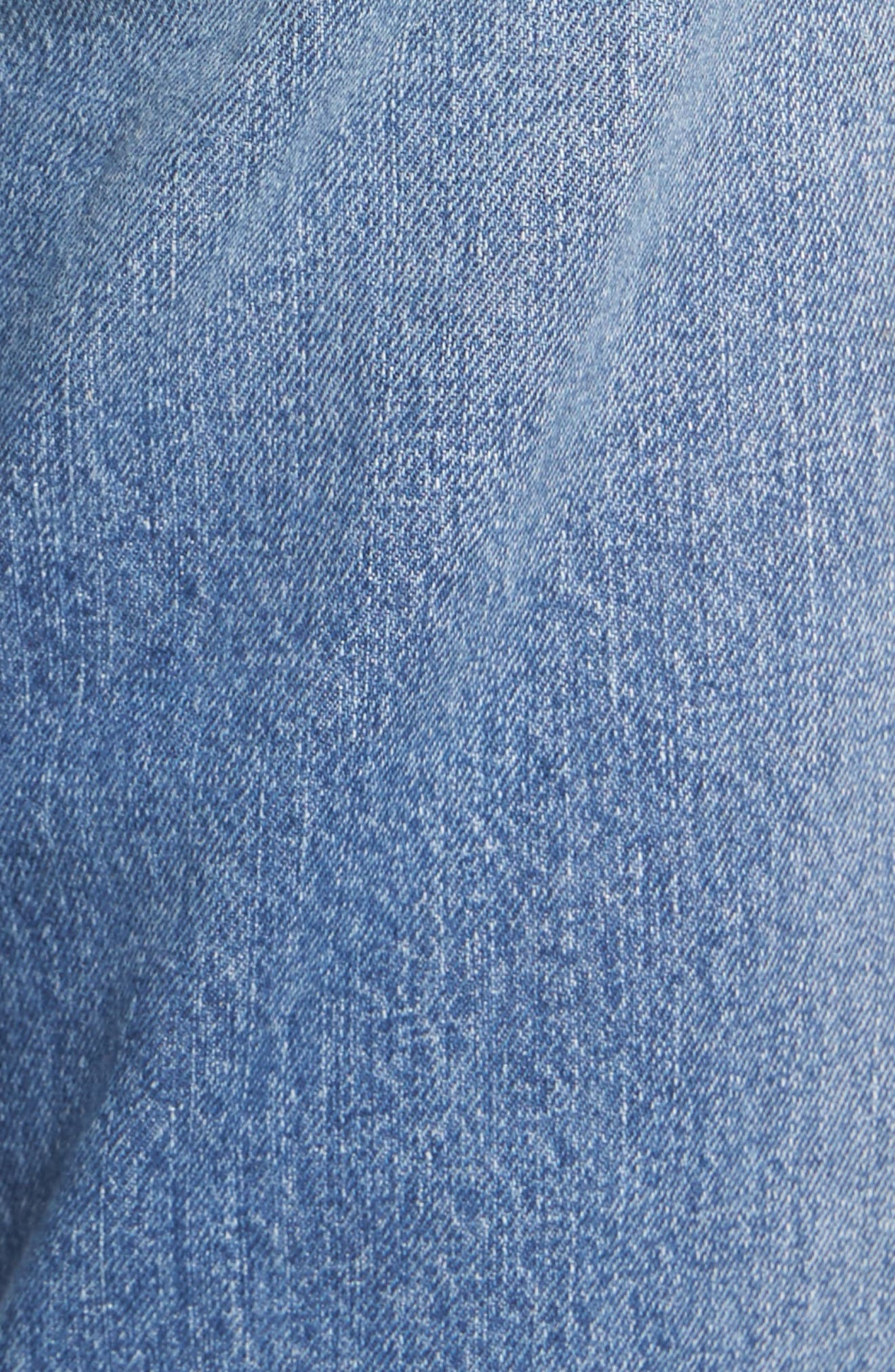 Alternate Image 6  - STS Blue Taylor Ripped Crop Boyfriend Jeans (Conway)