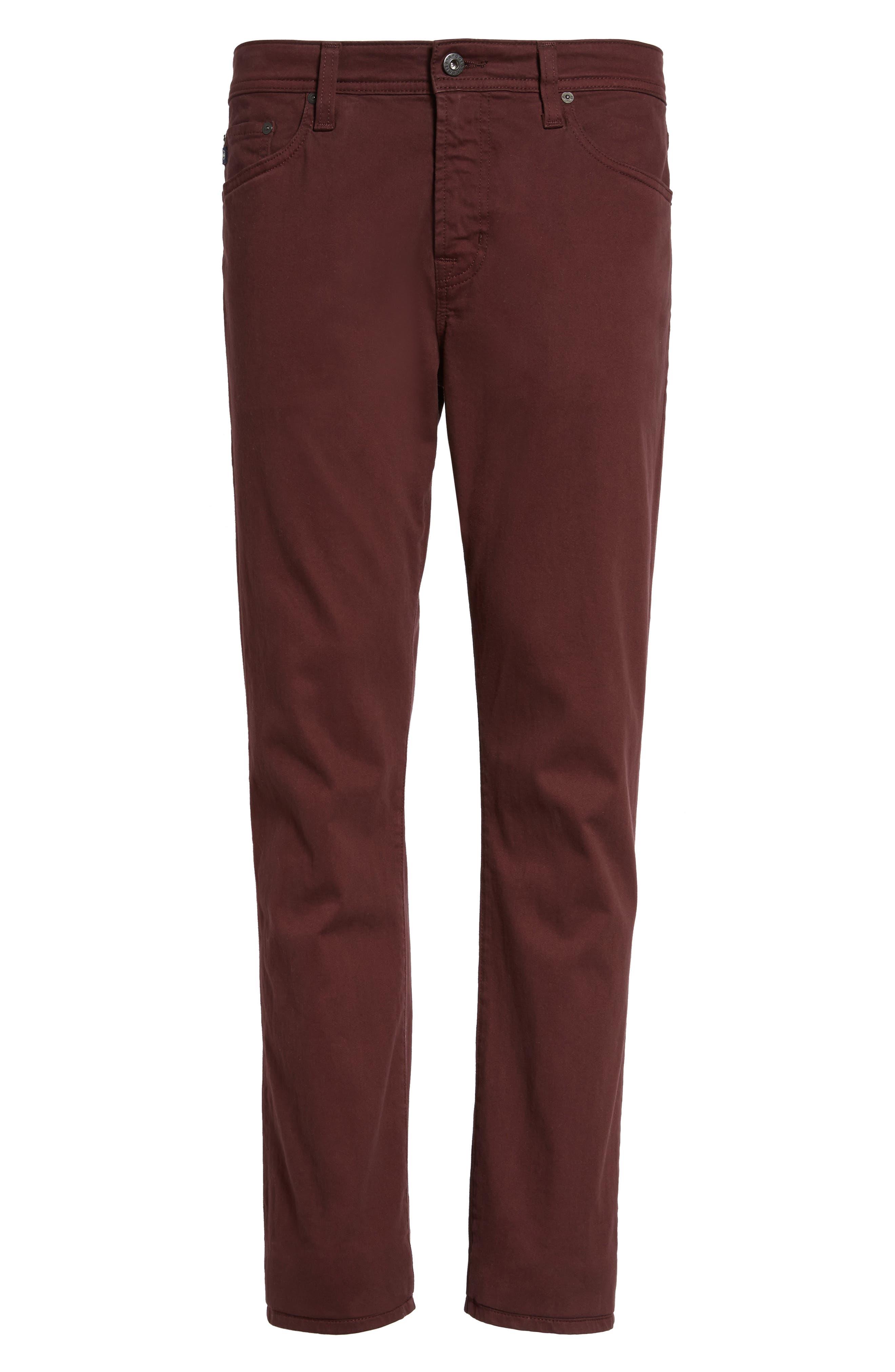 Alternate Image 5  - AG Everett SUD Slim Straight Fit Pants