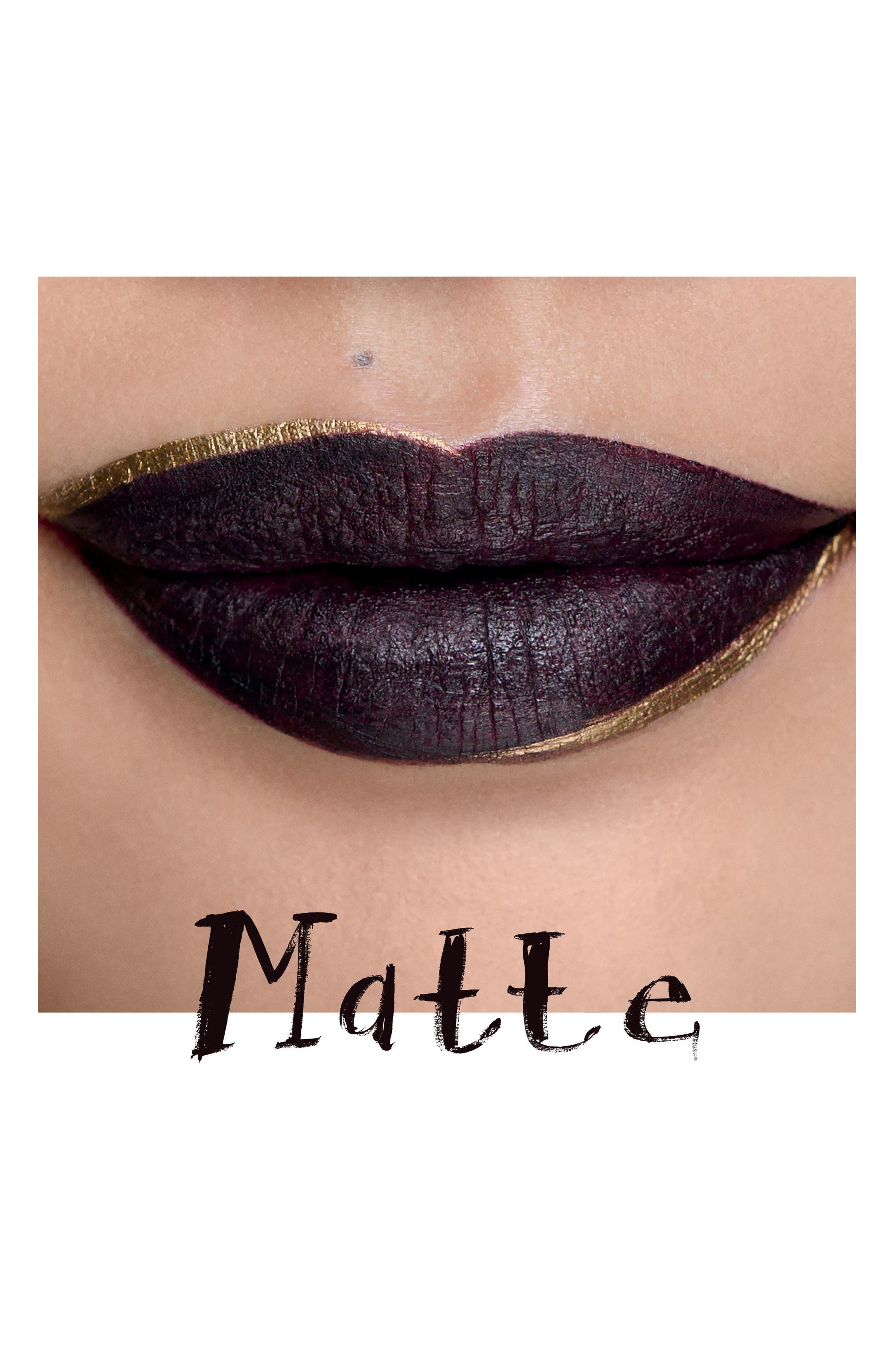 MAC Retro Matte Liquid Lipcolor,                             Alternate thumbnail 3, color,                             High Drama