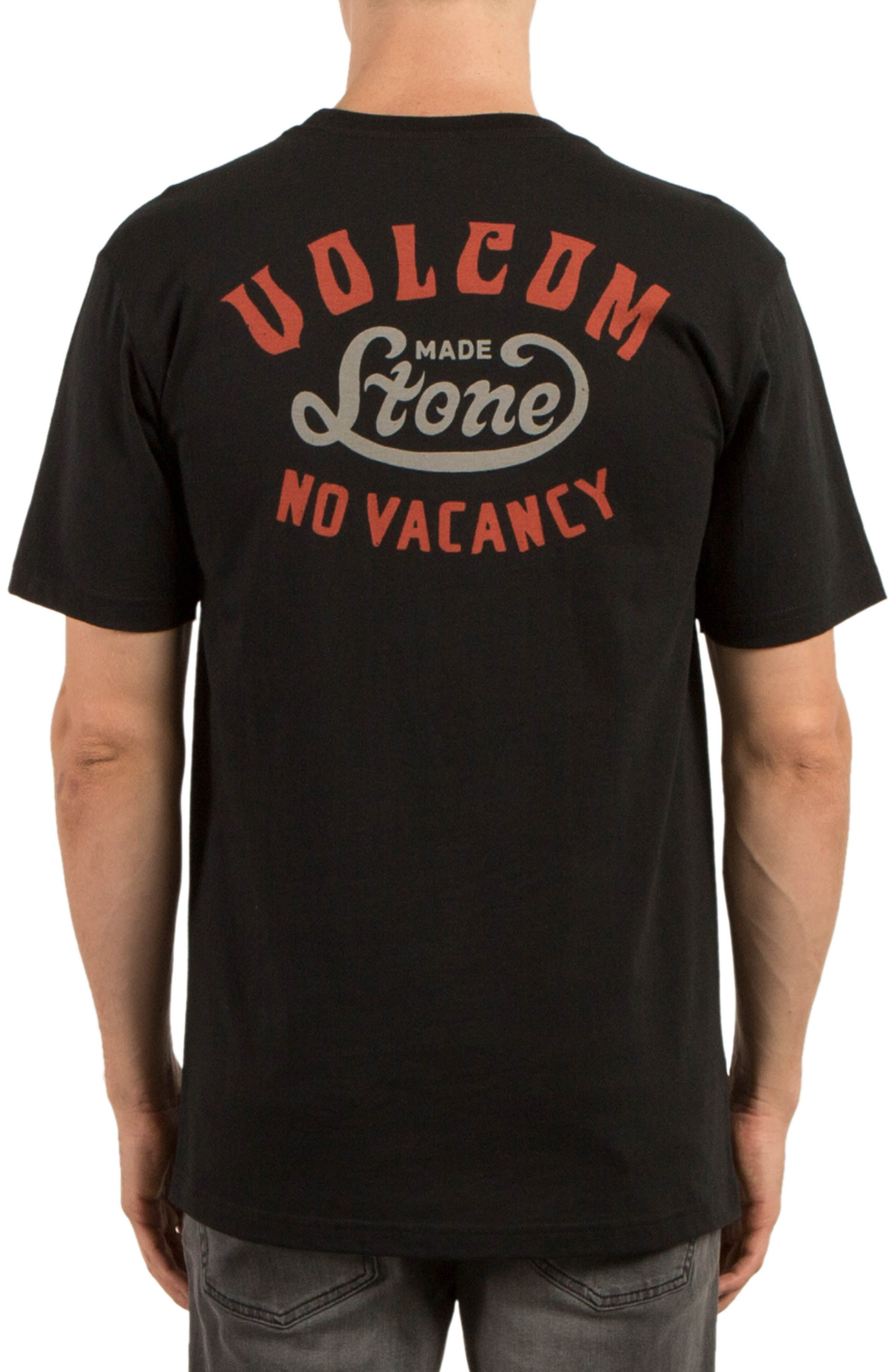 Strike Graphic T-Shirt,                             Alternate thumbnail 2, color,                             Black