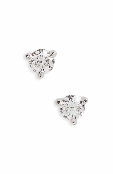 Kwiat 0 25ct Tw Diamond Platinum Stud Earrings