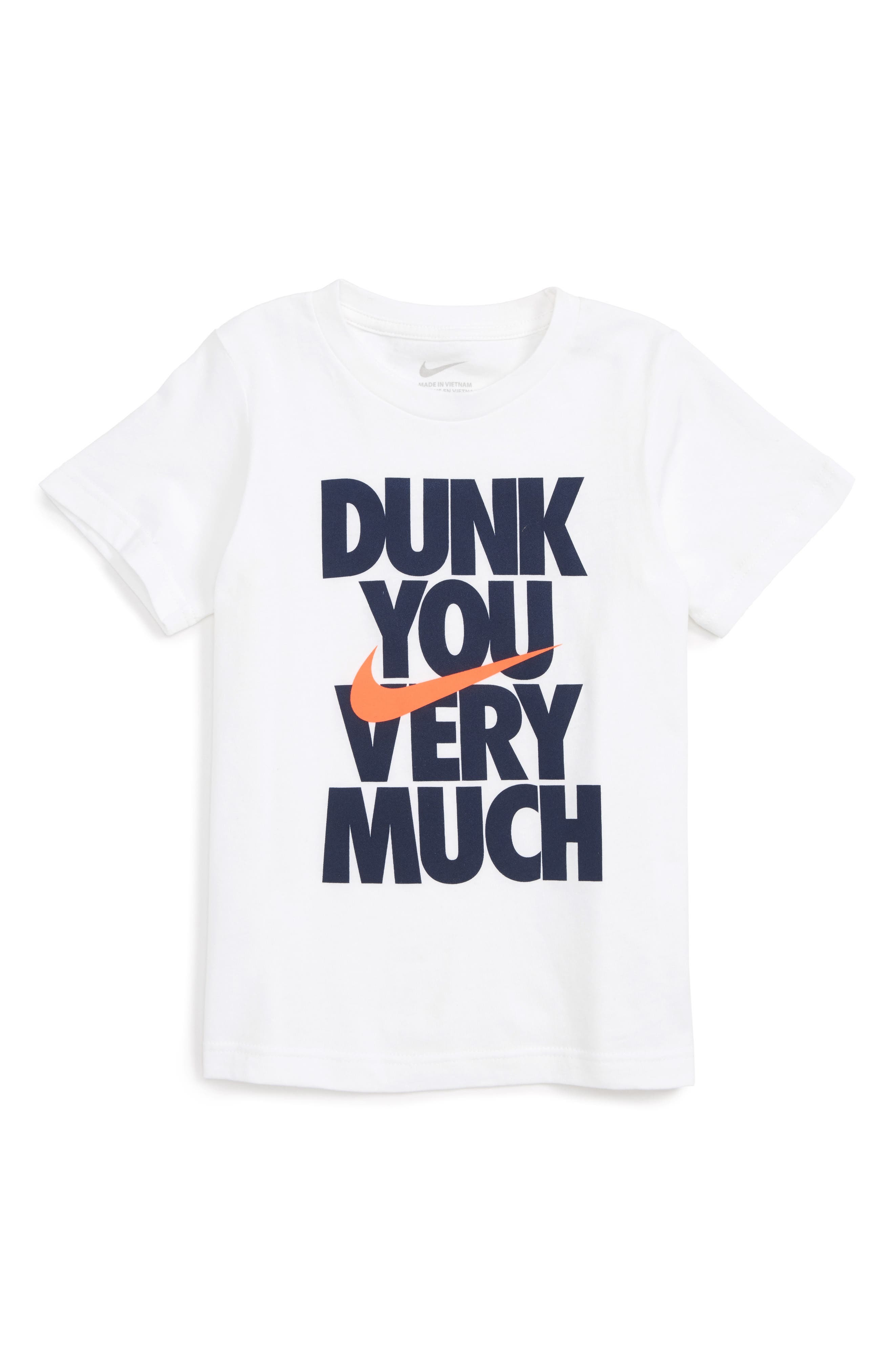 Nike Dunk You Very Much Graphic T-Shirt (Toddler Boys & Little Boys)
