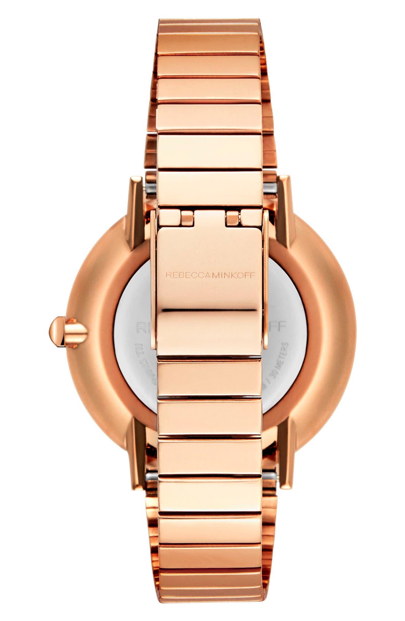 Major Bracelet Watch, 35mm,                             Alternate thumbnail 2, color,                             Rose Gold