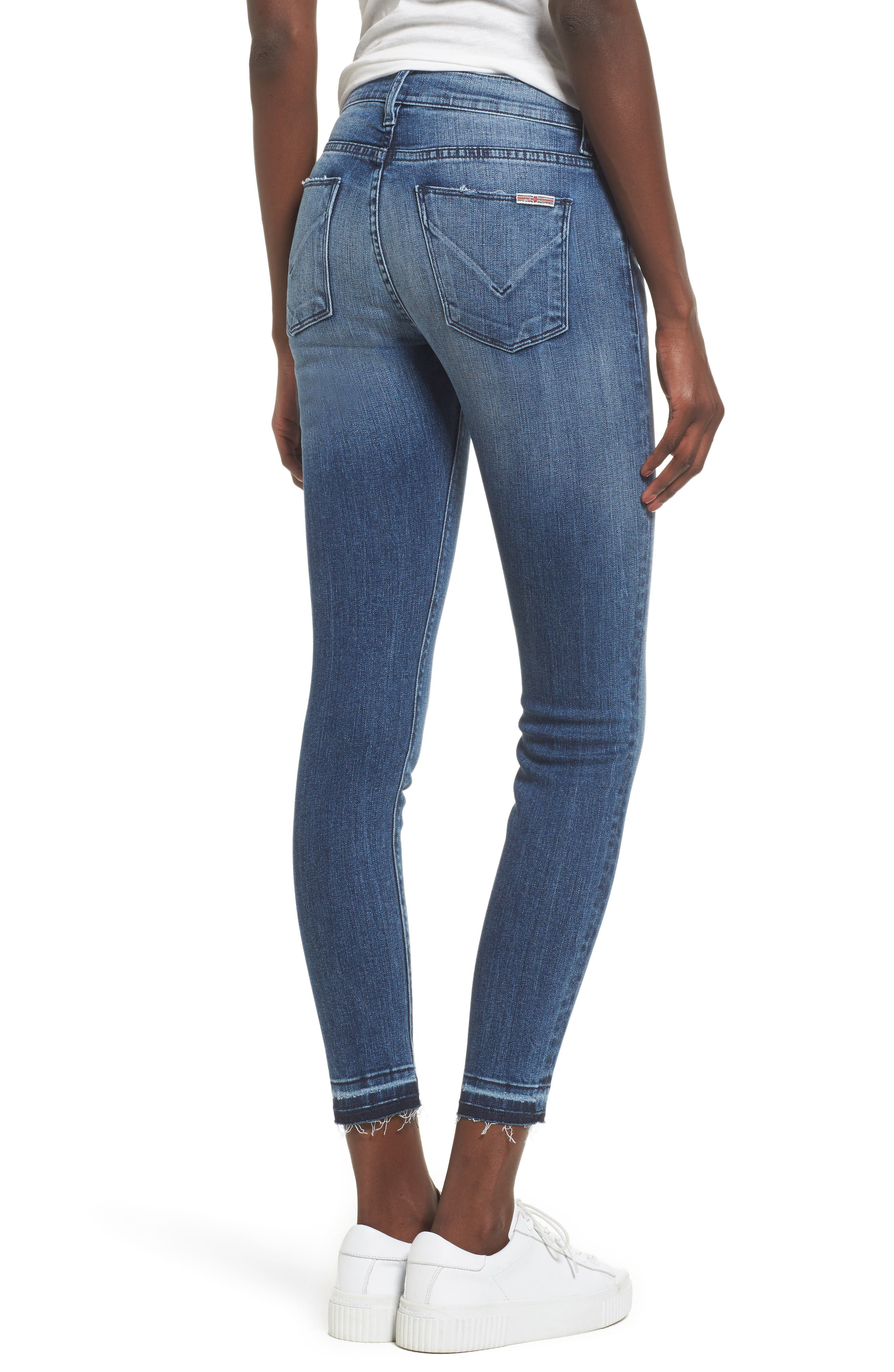 Alternate Image 2  - Hudson Jeans Nico Released Hem Ankle Skinny Jeans