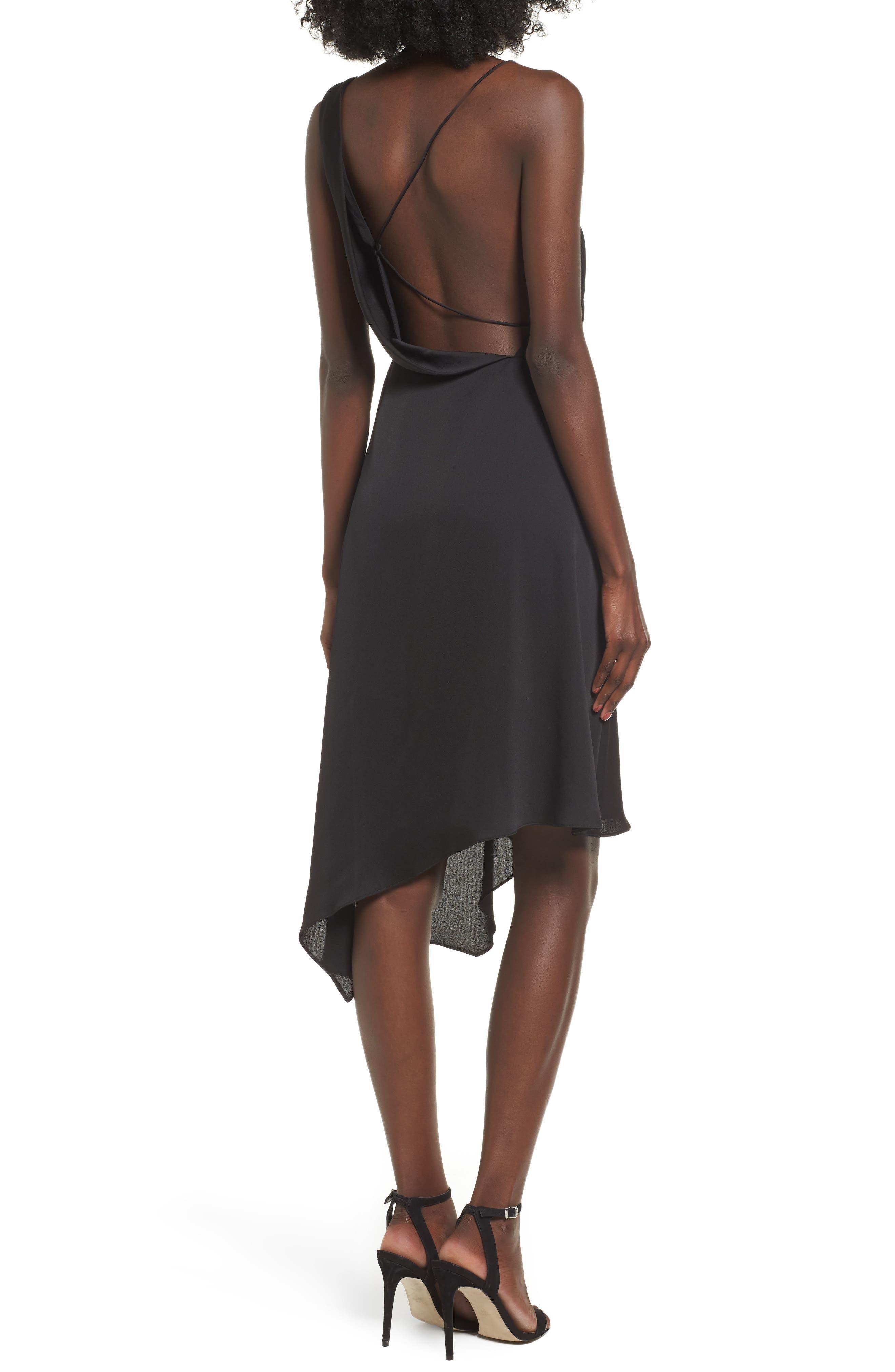 Alternate Image 3  - Keepsake the Label Sidelines Chiffon Midi Dress