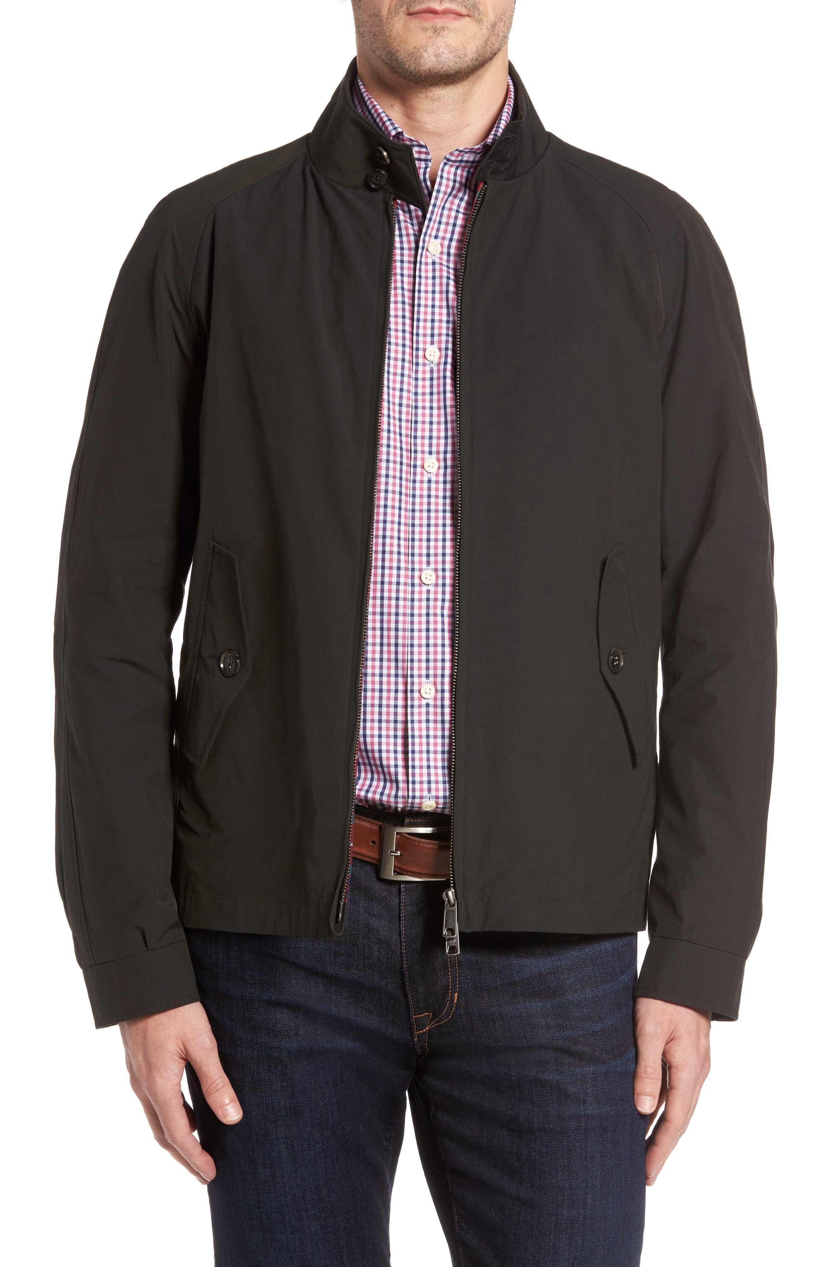 Alternate Image 1 Selected - Baracuta G4 Water Repellent Harrington Jacket