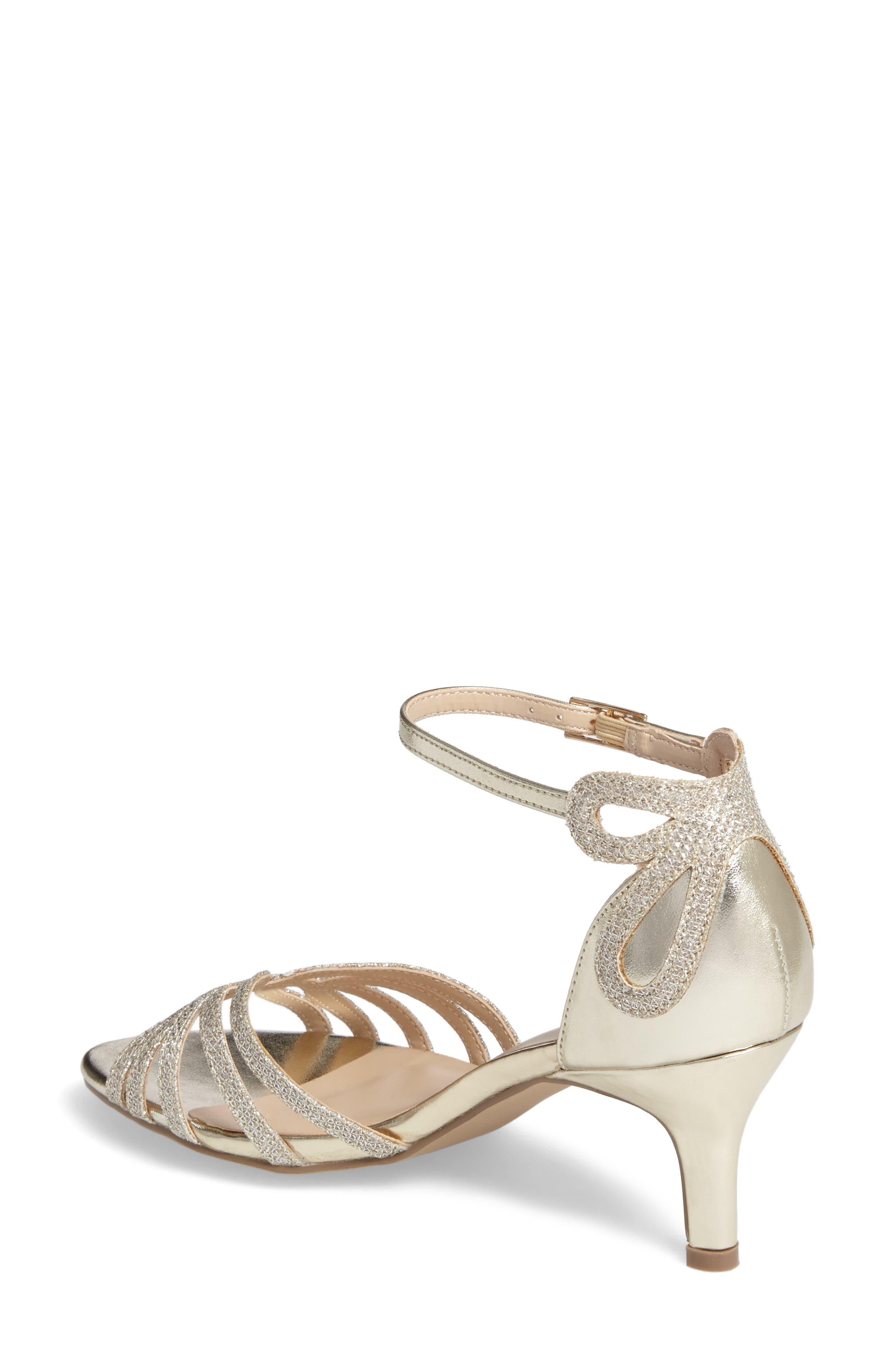 Melby Ankle Strap Sandal,                             Alternate thumbnail 2, color,                             Champagne