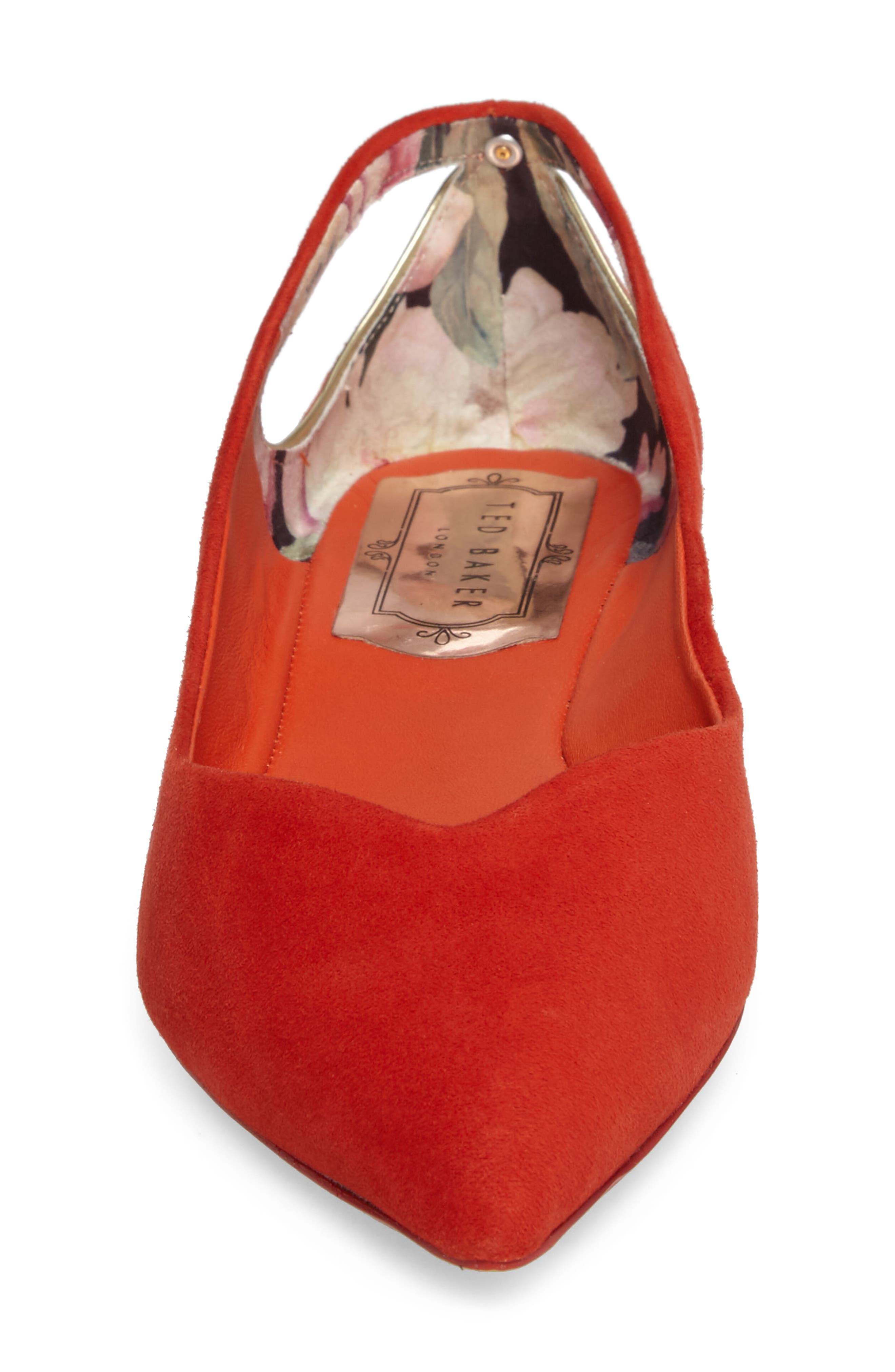 Alternate Image 4  - Ted Baker London Dabih Pointy Toe Flat (Women)