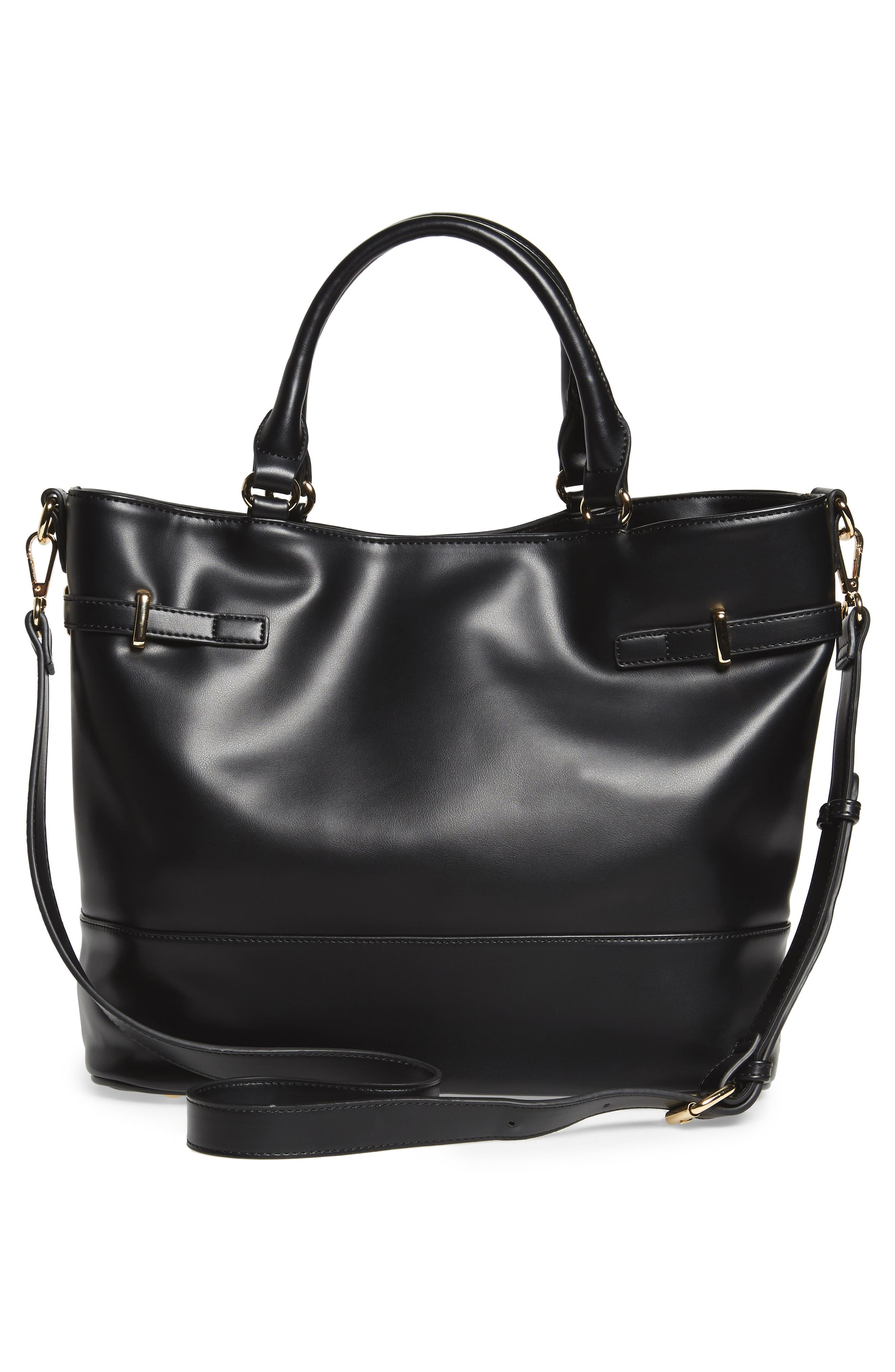 Alternate Image 4  - Sole Society Ryka Tassel Faux Leather Tote