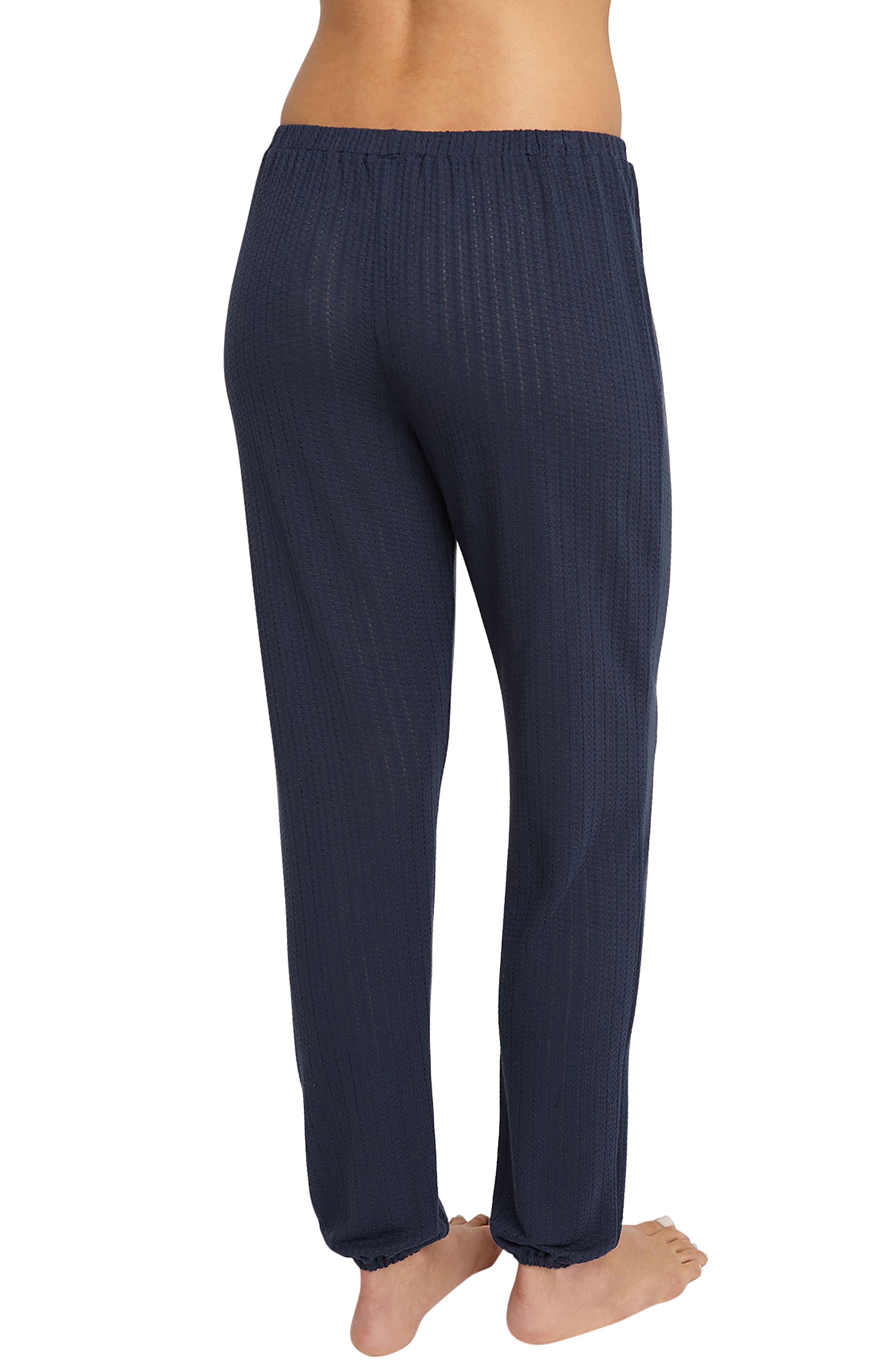 Alternate Image 2  - Eberjey Blue Nights Baxter Pants